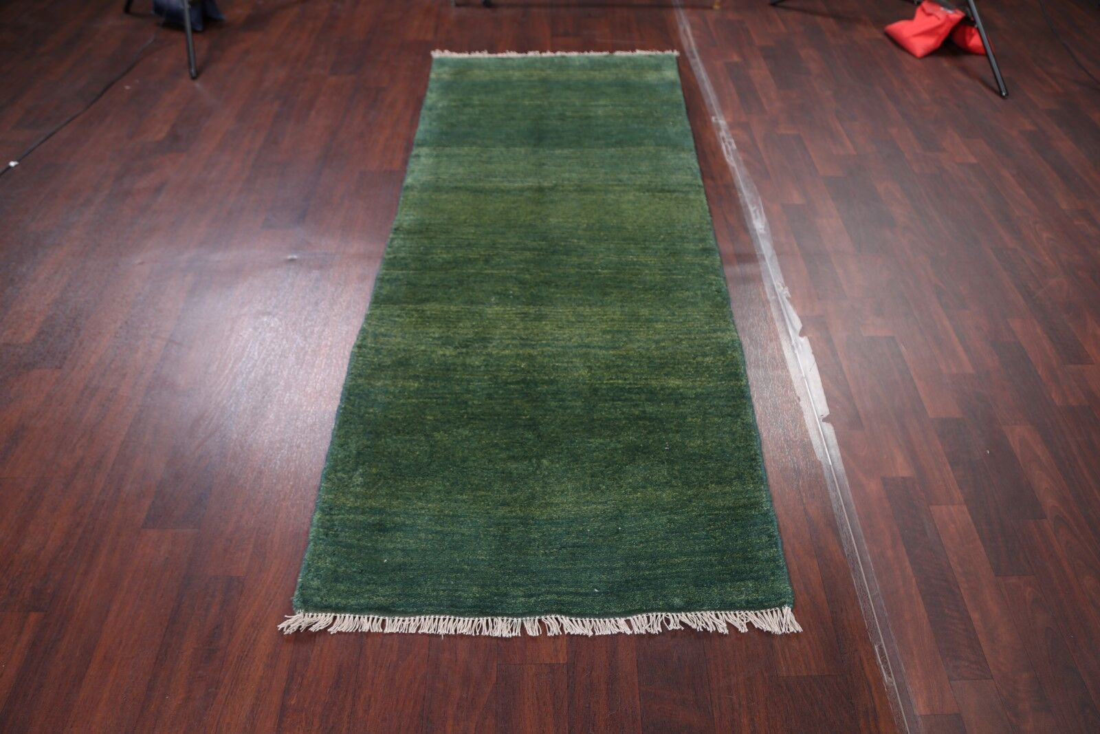 One-of-a-Kind Classical Zolanvari Shiraz Gabbeh Persian Hand-Knotted 3'2