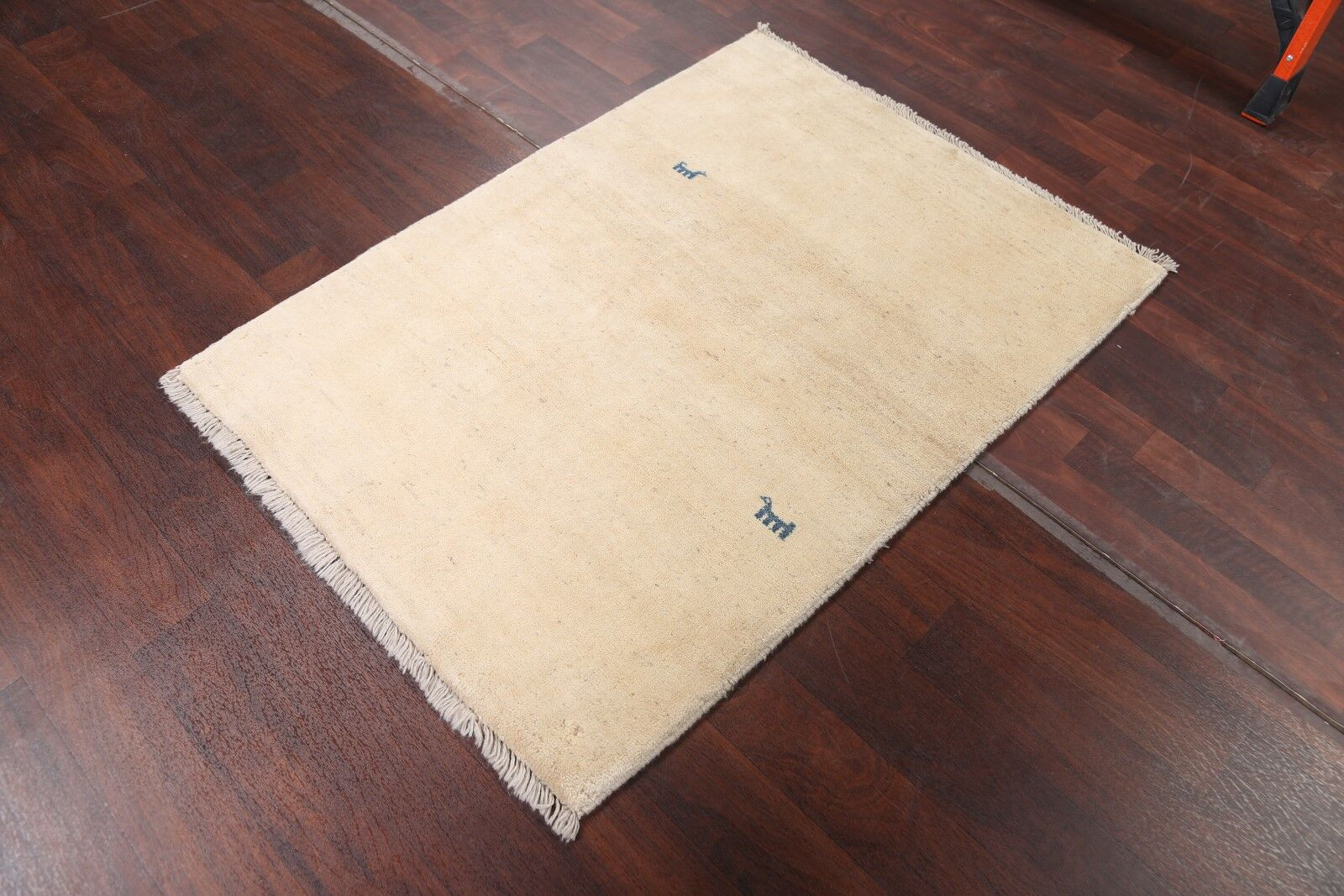One-of-a-Kind Traditional Nomad Gabbeh Shiraz Persian Hand-Knotted 3'4