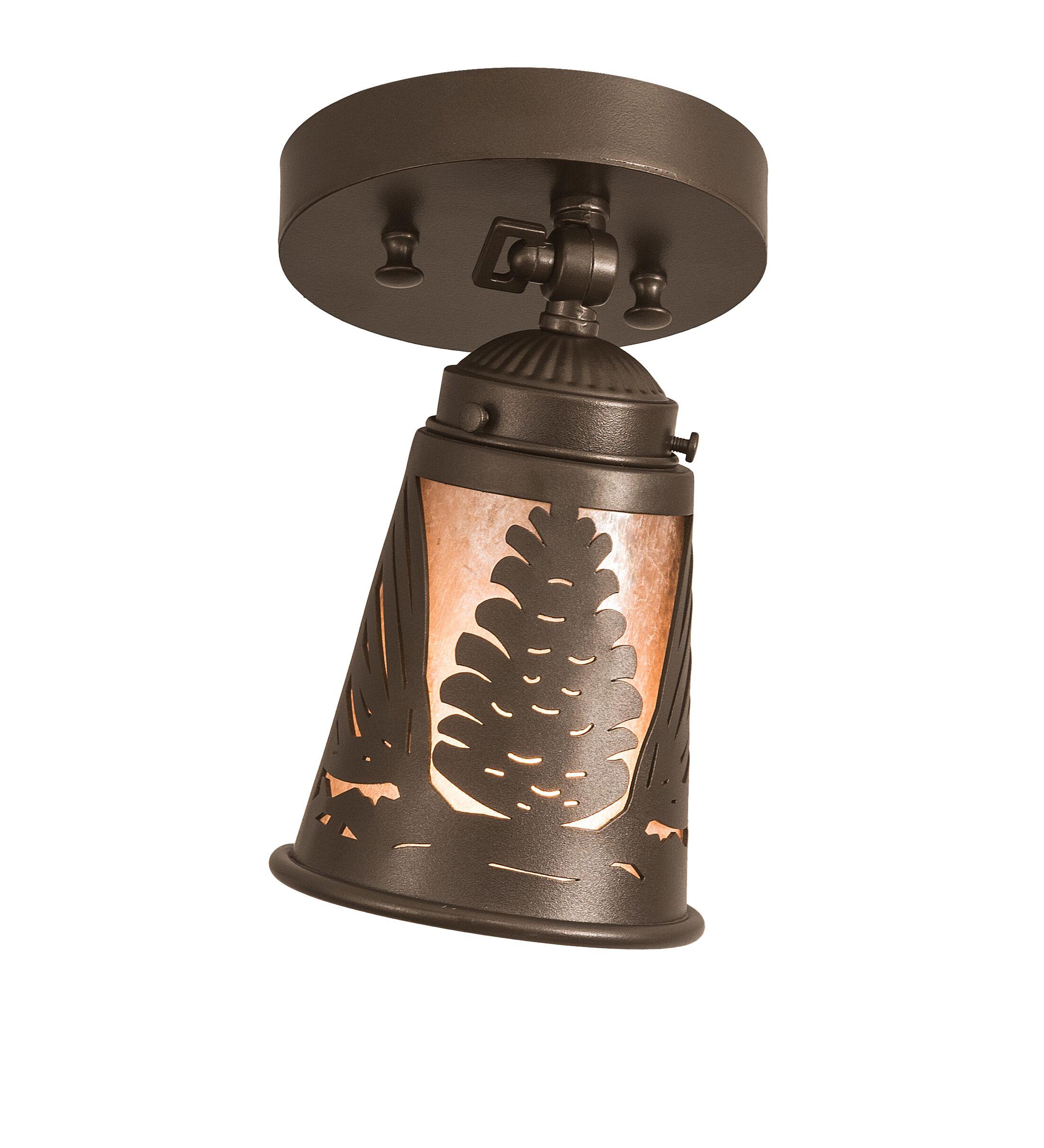 Mayra 1-Light Semi Flush Mount