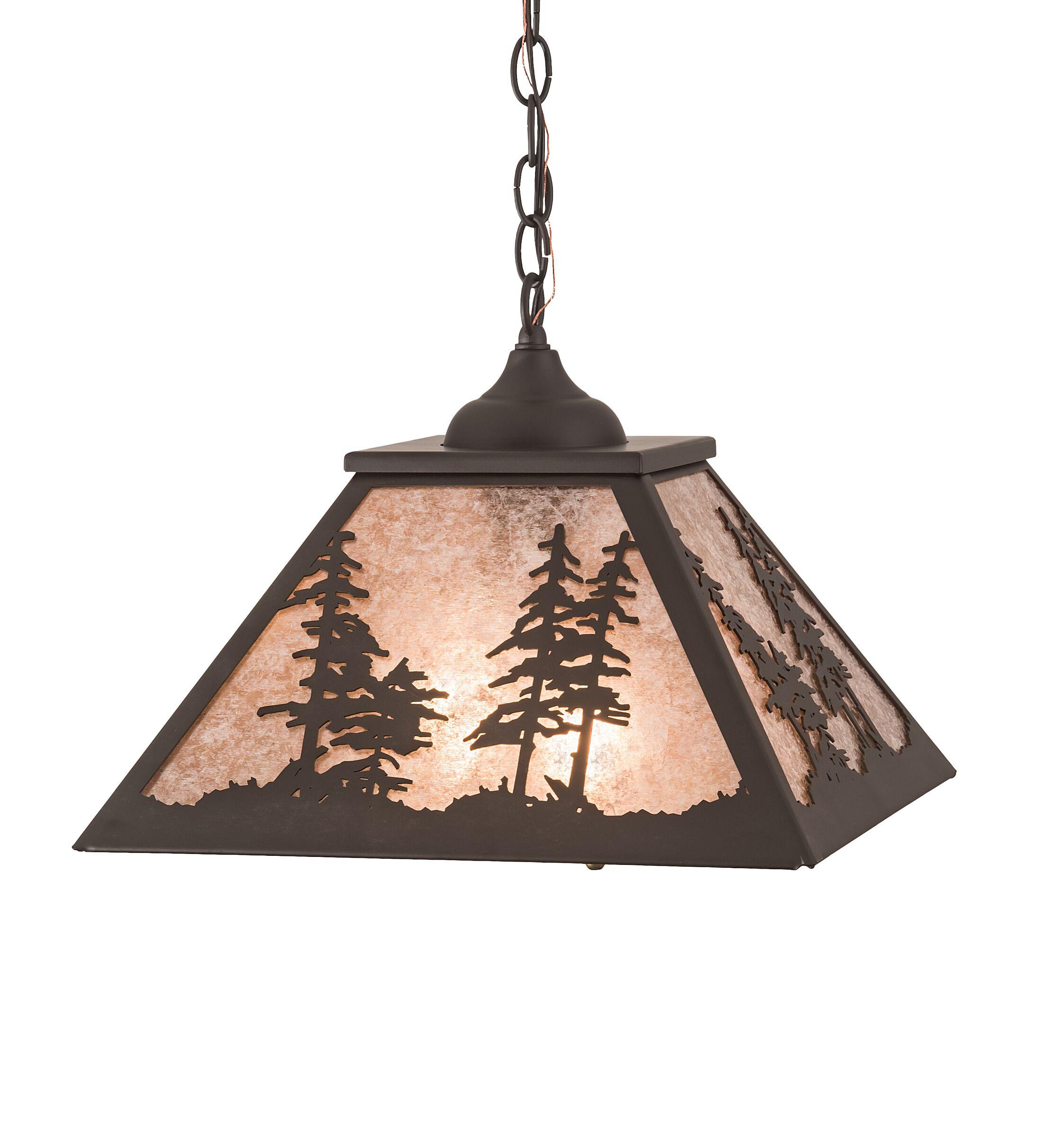 Fancher Square Tall Pines 2-Light Mini Pendant
