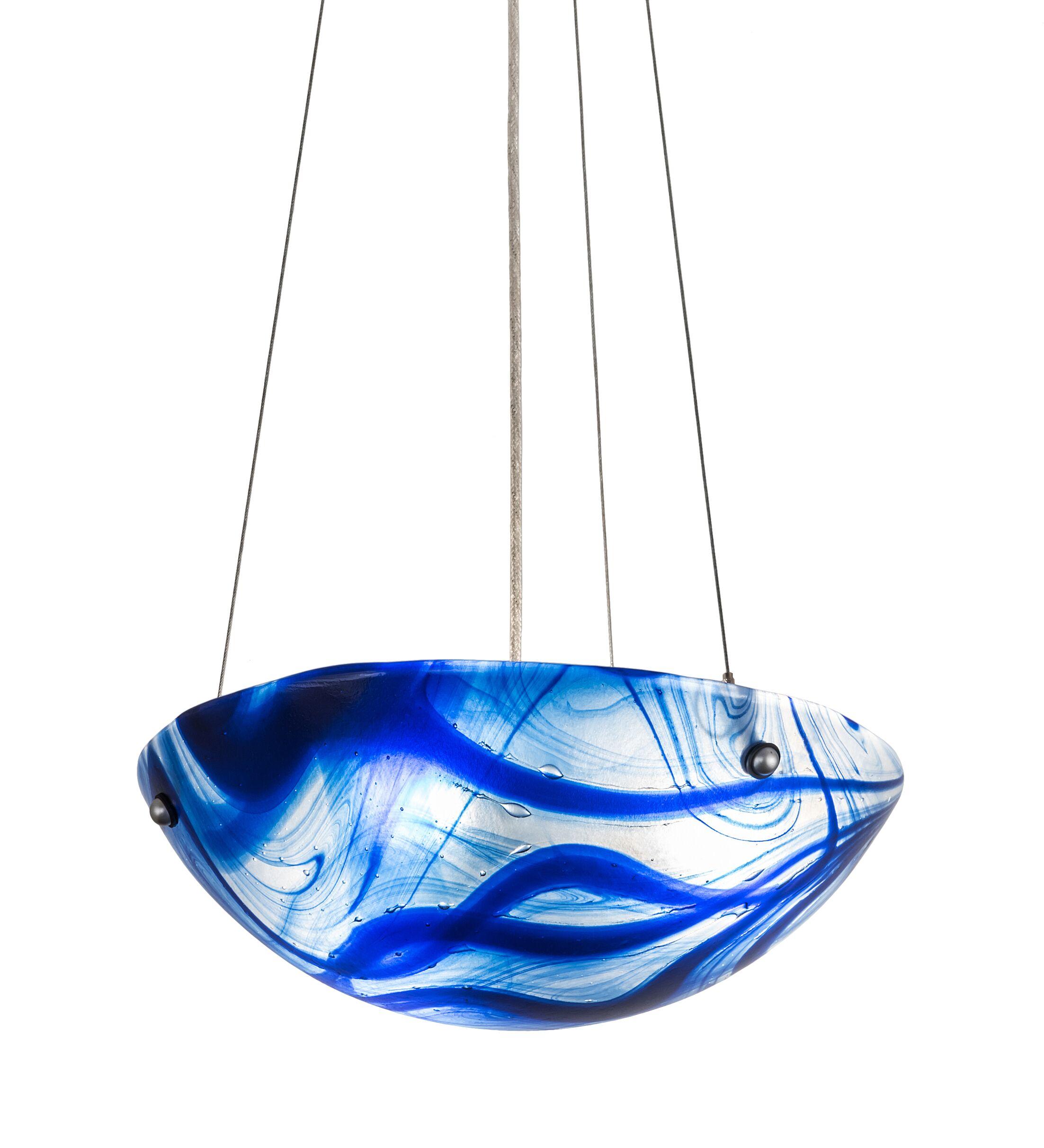 Alondra Baroque 3-Light Bowl Pendant