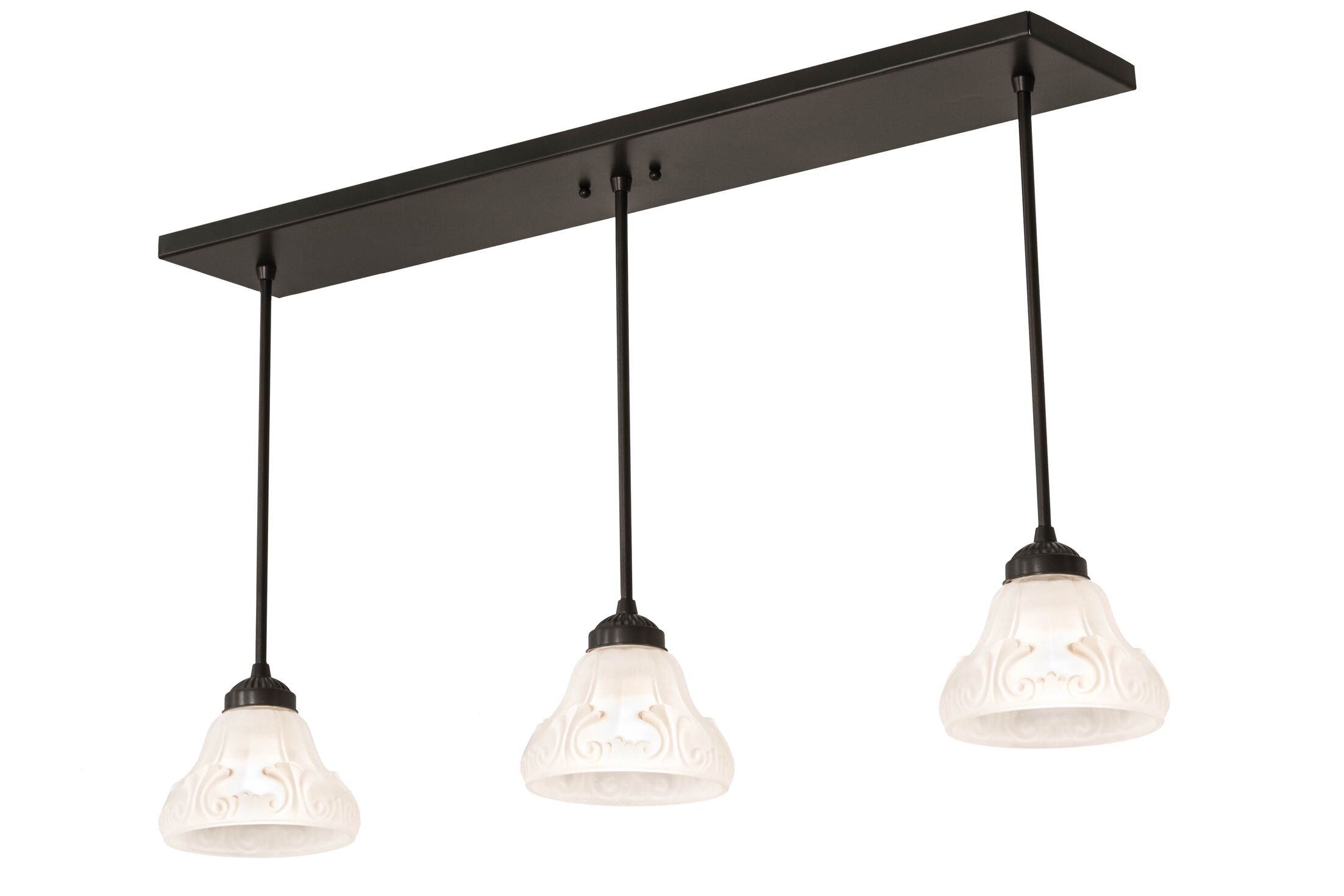 Mosteller 3-Light Kitchen Island Pendant