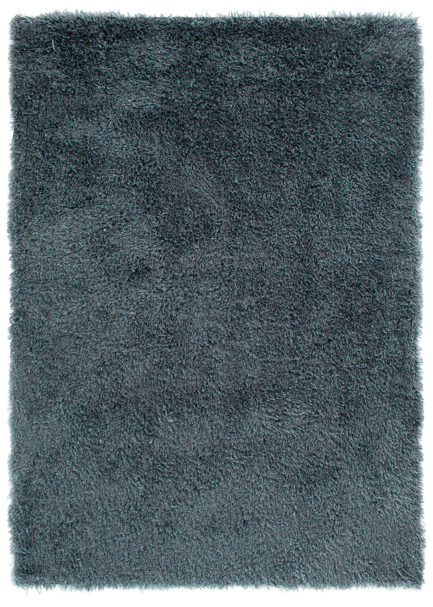 Ramhit Shag Blue Area Rug Rug Size: Rectangle 5' x 7'