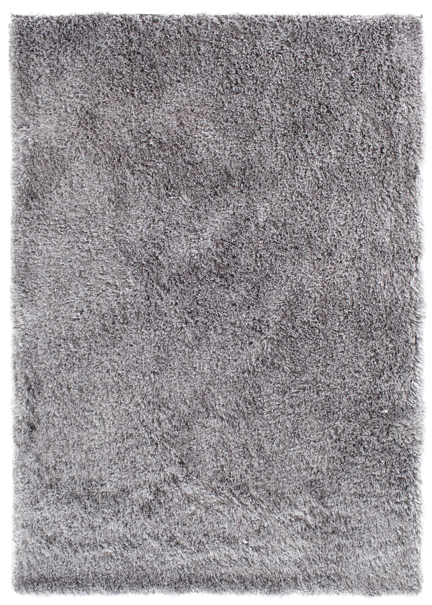 Luster Shag Silver Area Rug Rug Size: Rectangle 7'6