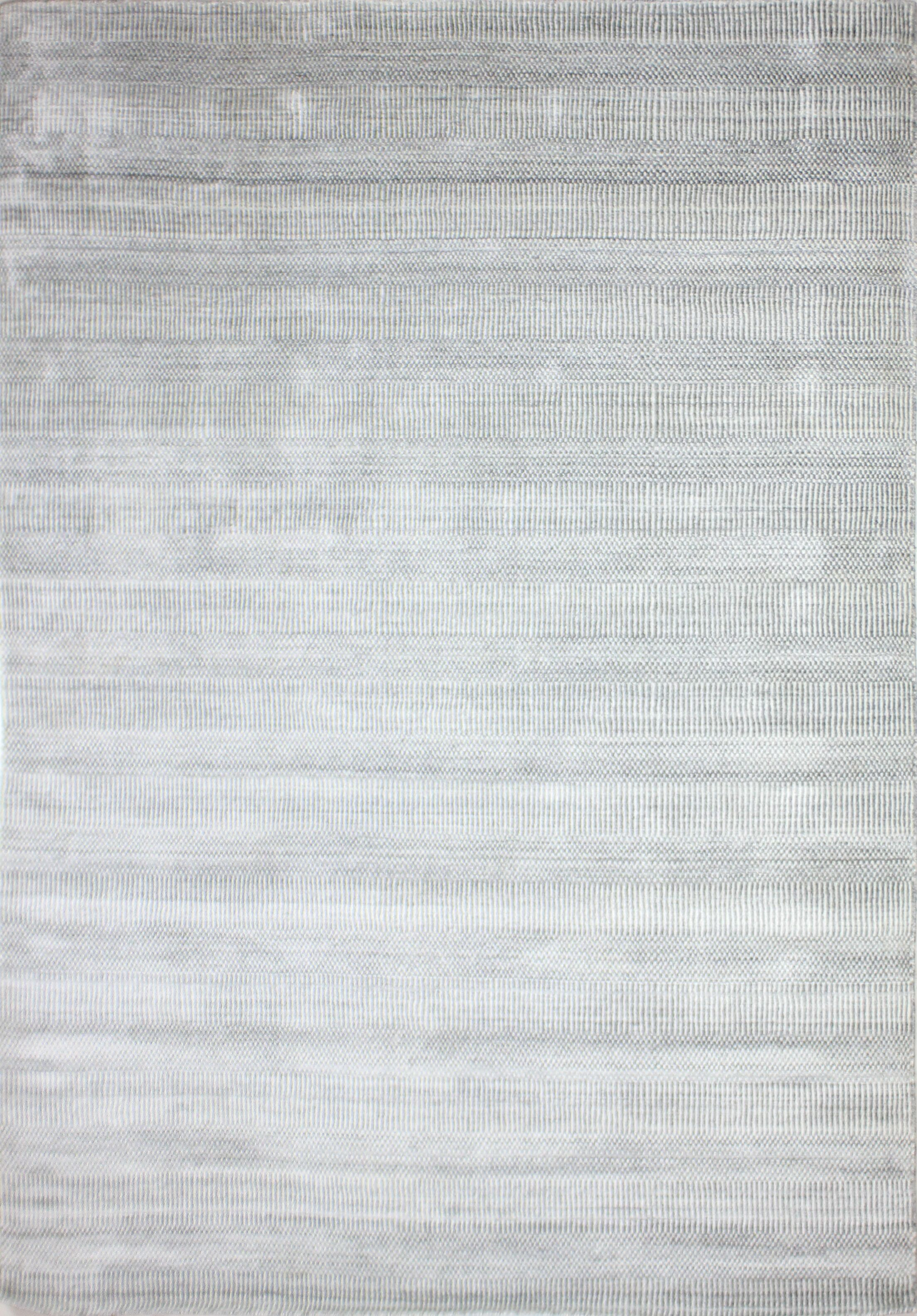 One-of-a-Kind Meidell Hand-Woven Wool Charcoal Area Rug Rug Size: Rectangle 6' x 9'
