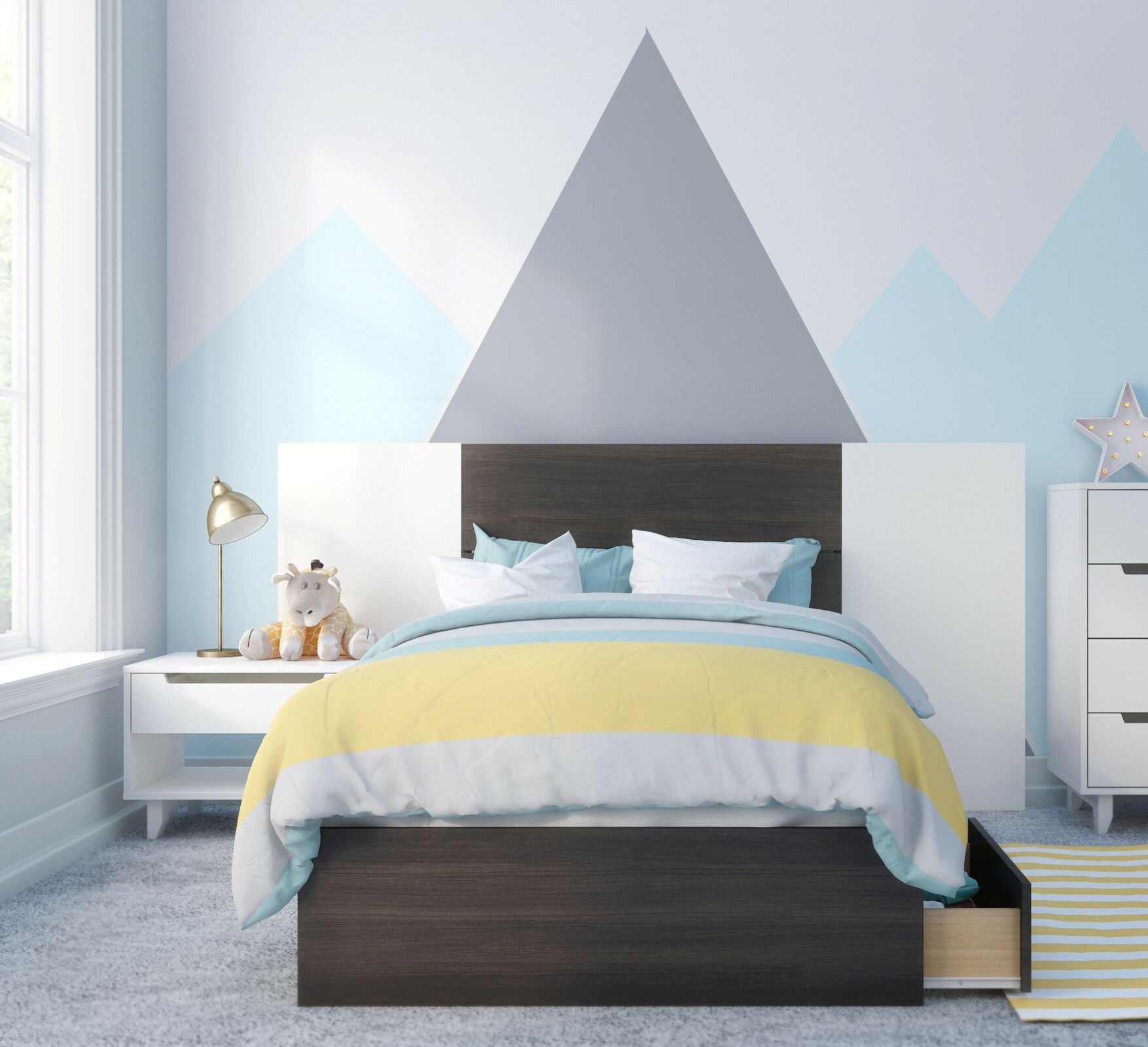 Mciver Platform 2 Piece Bedroom Set Size: Twin