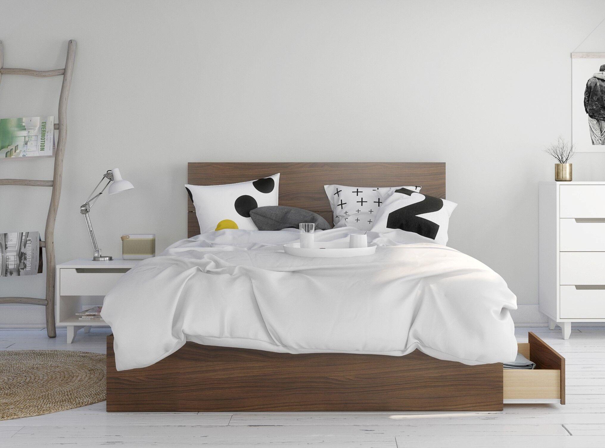 Mckamey Platform 3 Piece Bedroom Set Size: Queen