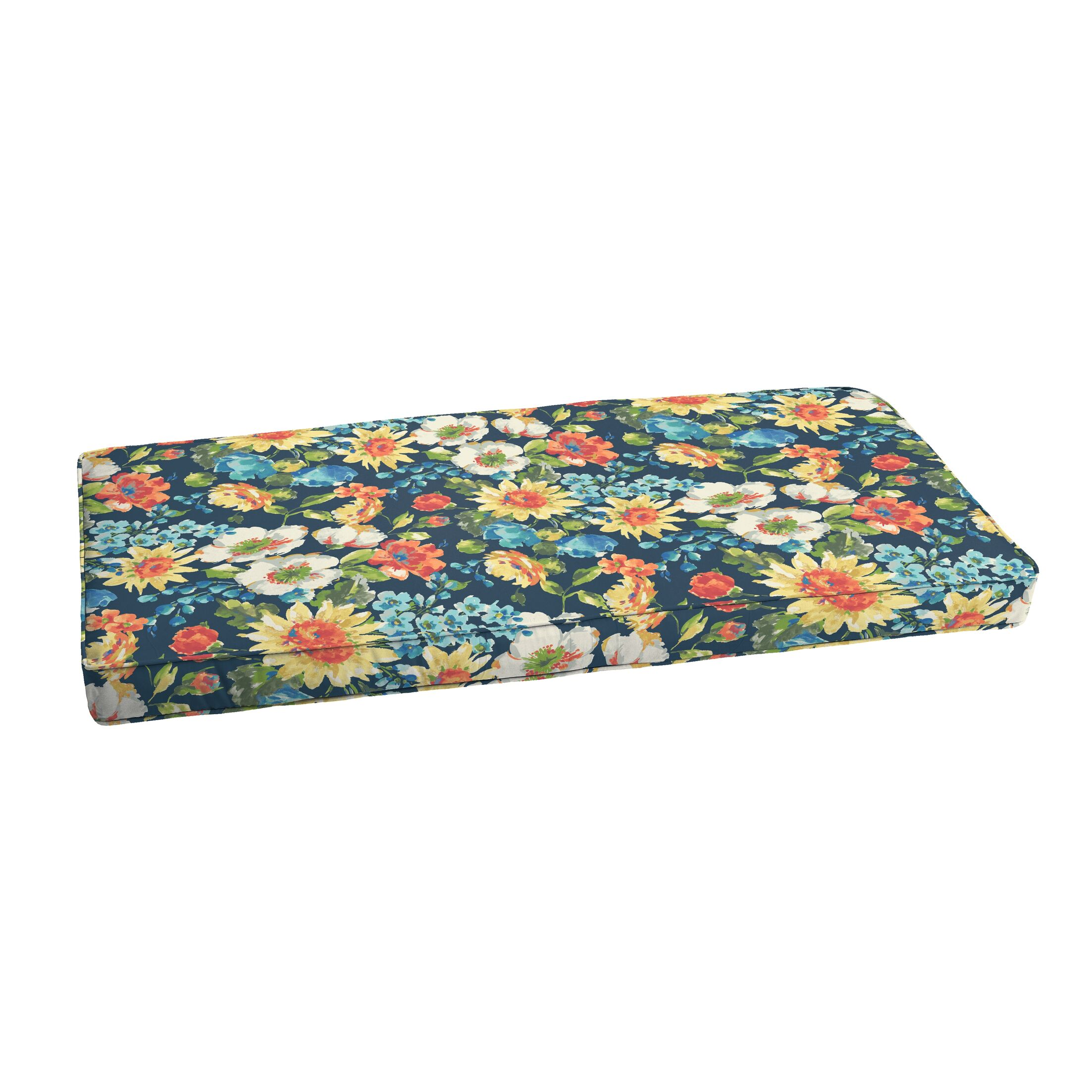 Reagle Indoor/Outdoor Bench Cushion Size: 2