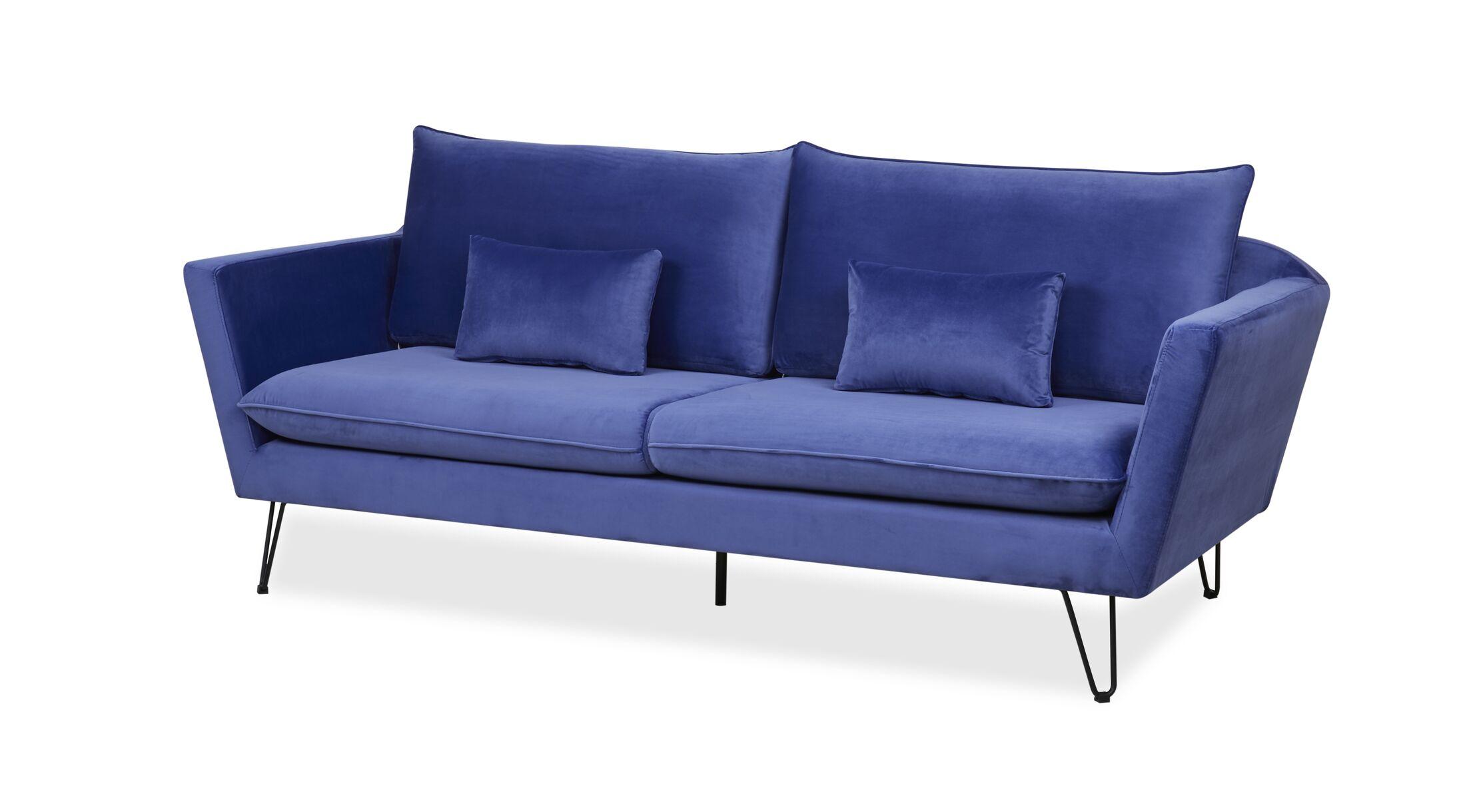 Fagin Standard  Sofa Upholstery Color: Light Blue