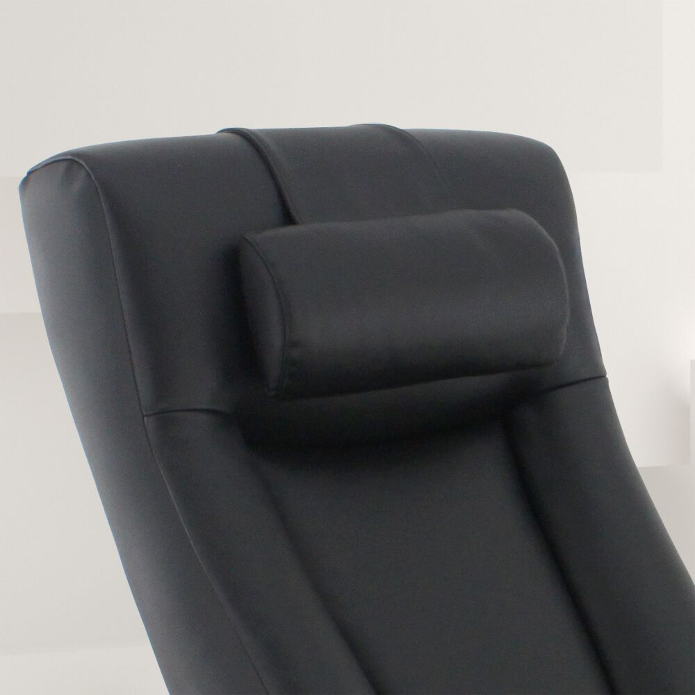 Flathead Lake Leather Lumber Pillow Color: Black