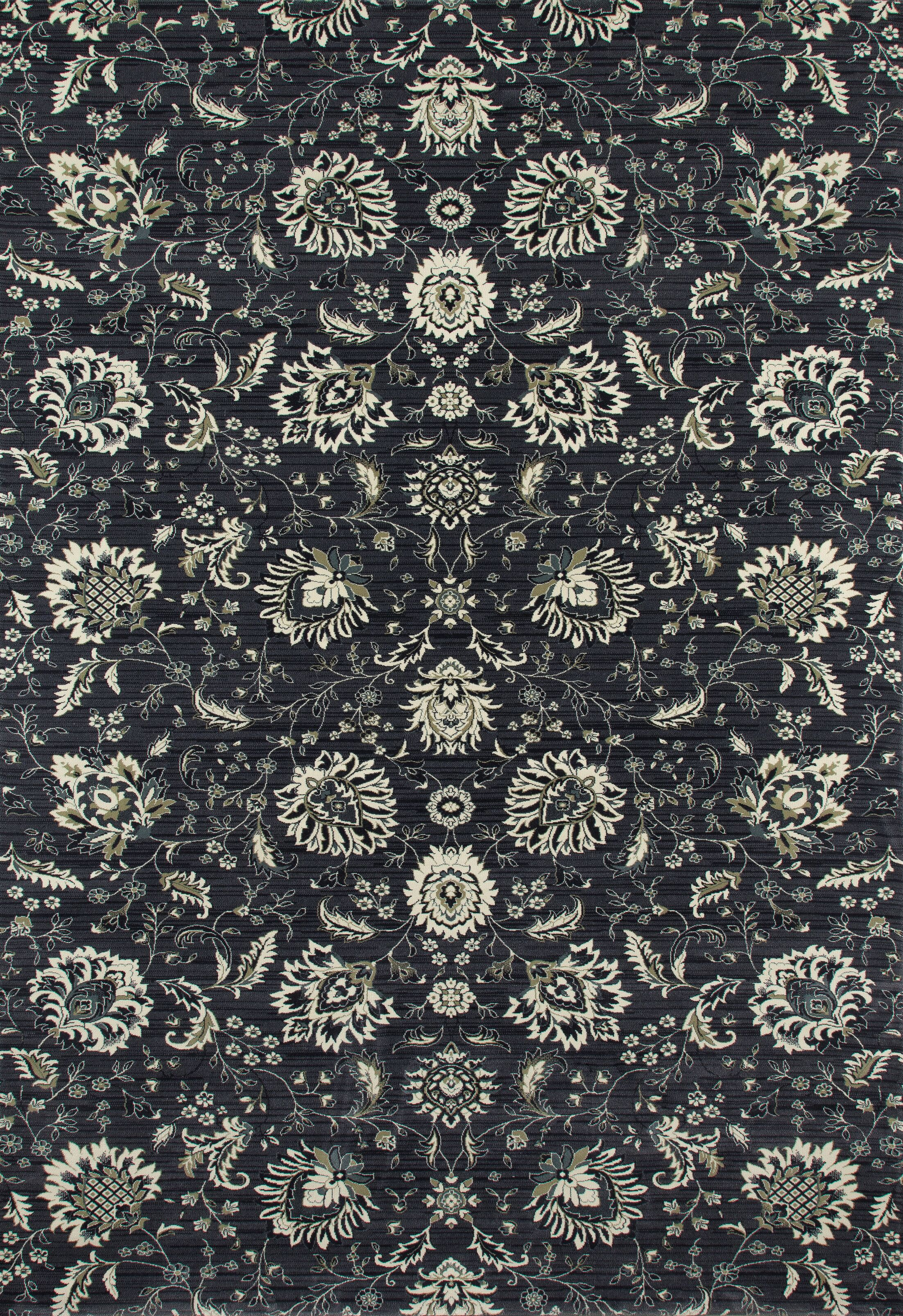 Rangel Gray Area Rug Rug Size: Rectangle 5'7