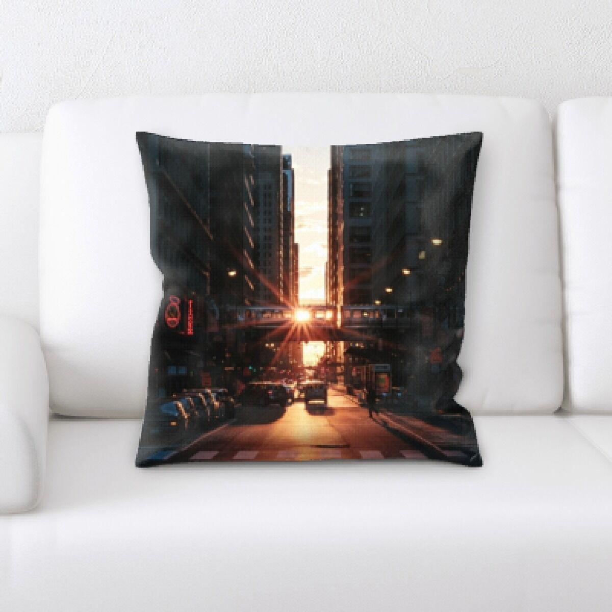 Illuminated (10) Throw Pillow