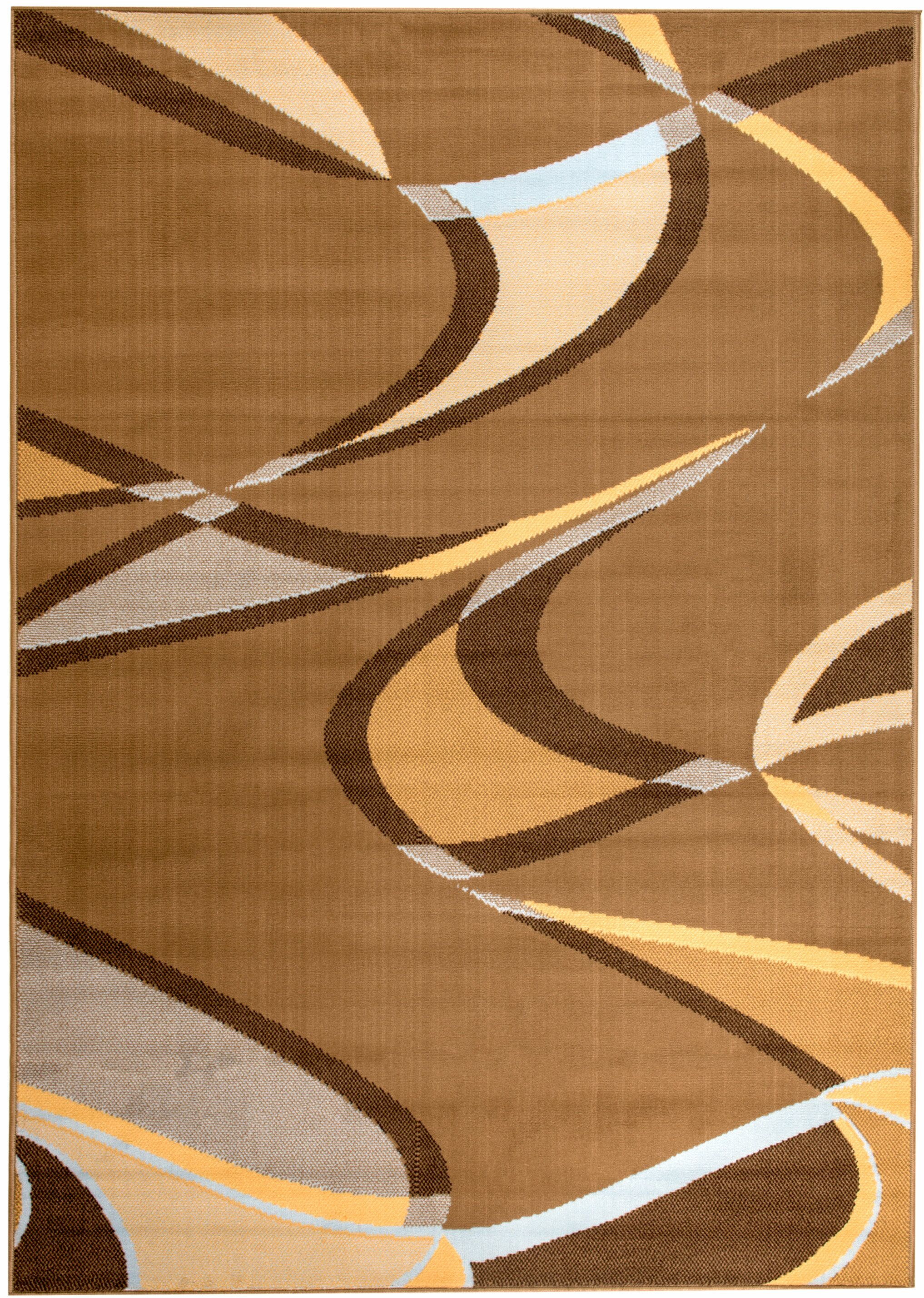 Lundberg Beige Area Rug Rug Size: Rectangle 7'4