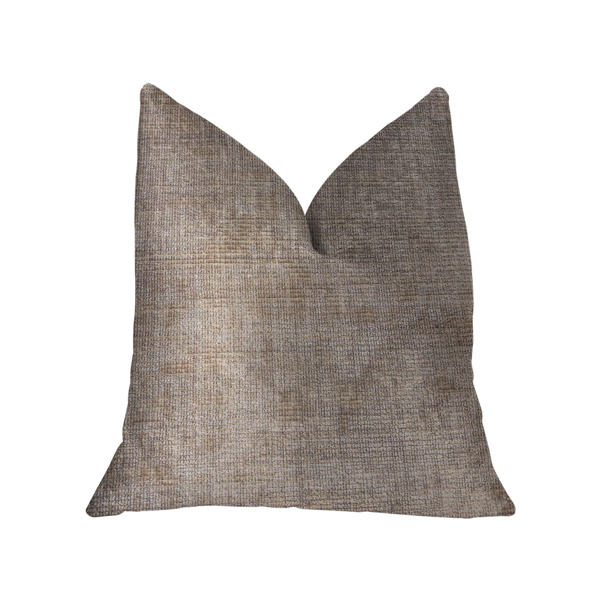 Leet Luxury Throw Pillow Size: 20