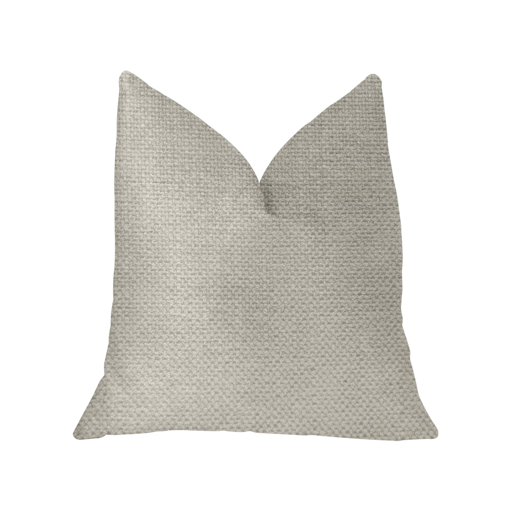 Leech Luxury Throw Pillow Size: 26