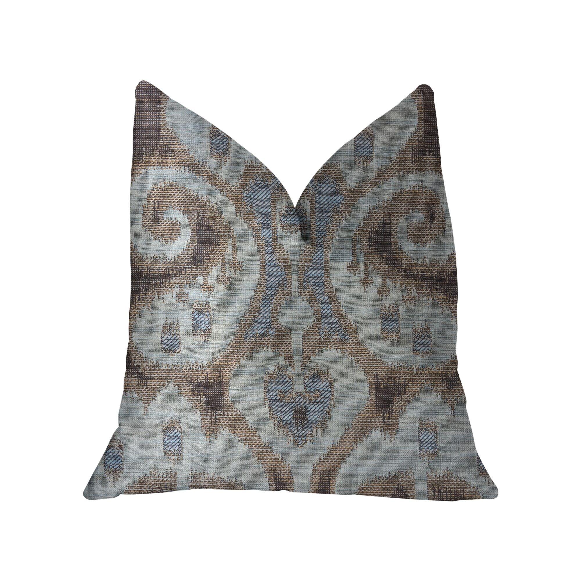 Pippen Luxury Throw Pillow Size: 16