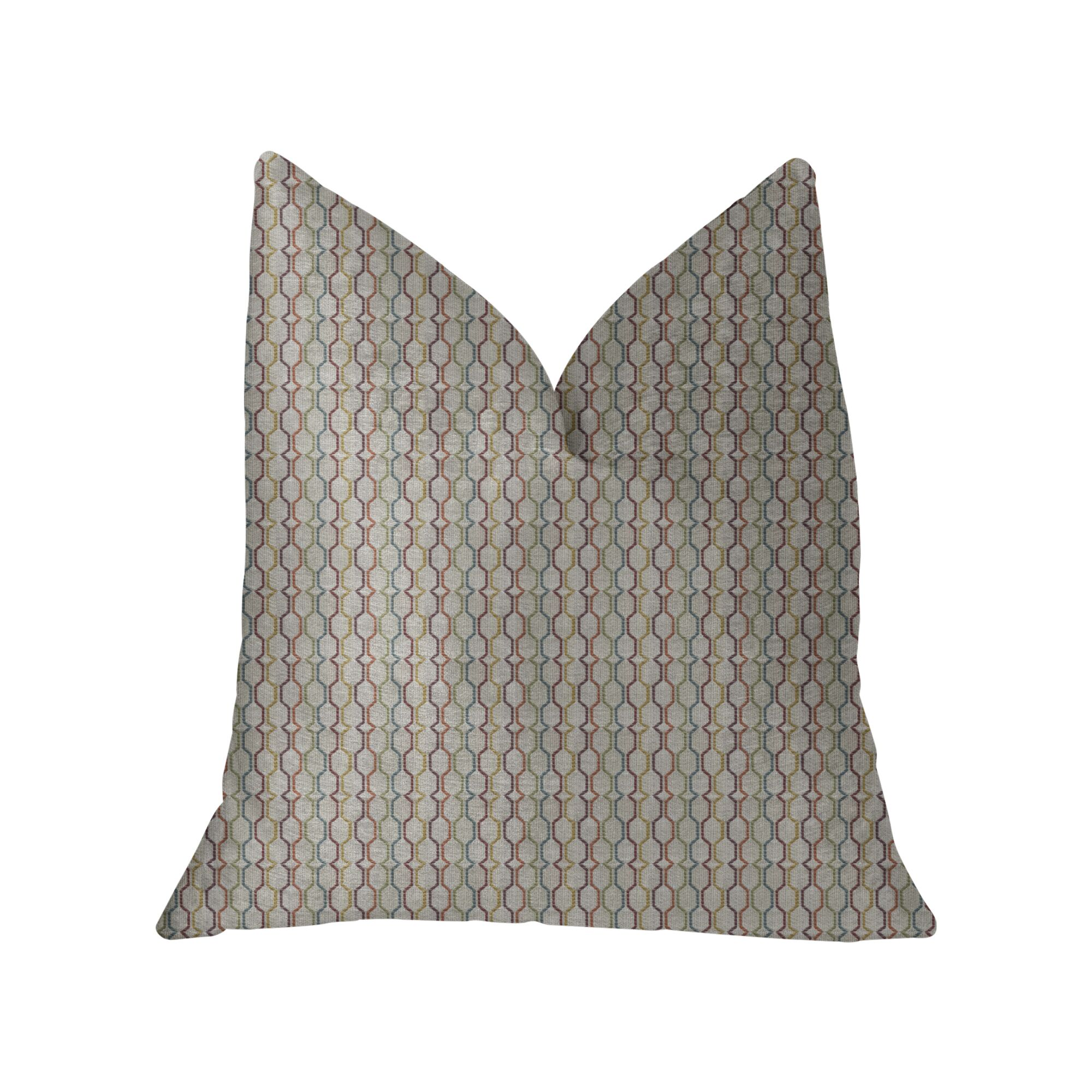Dishon Luxury Throw Pillow Size: 22