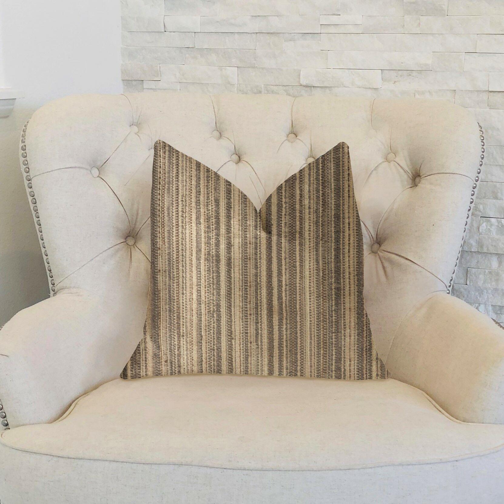 Leeman Luxury Throw Pillow Size: 24