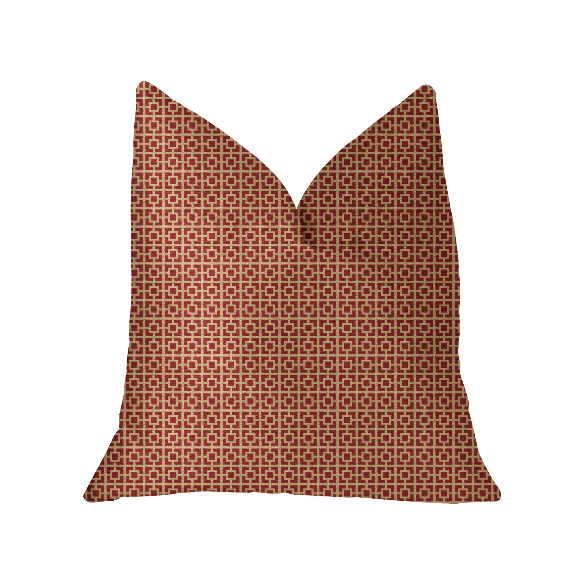 Kruger Luxury Throw Pillow Size: 20