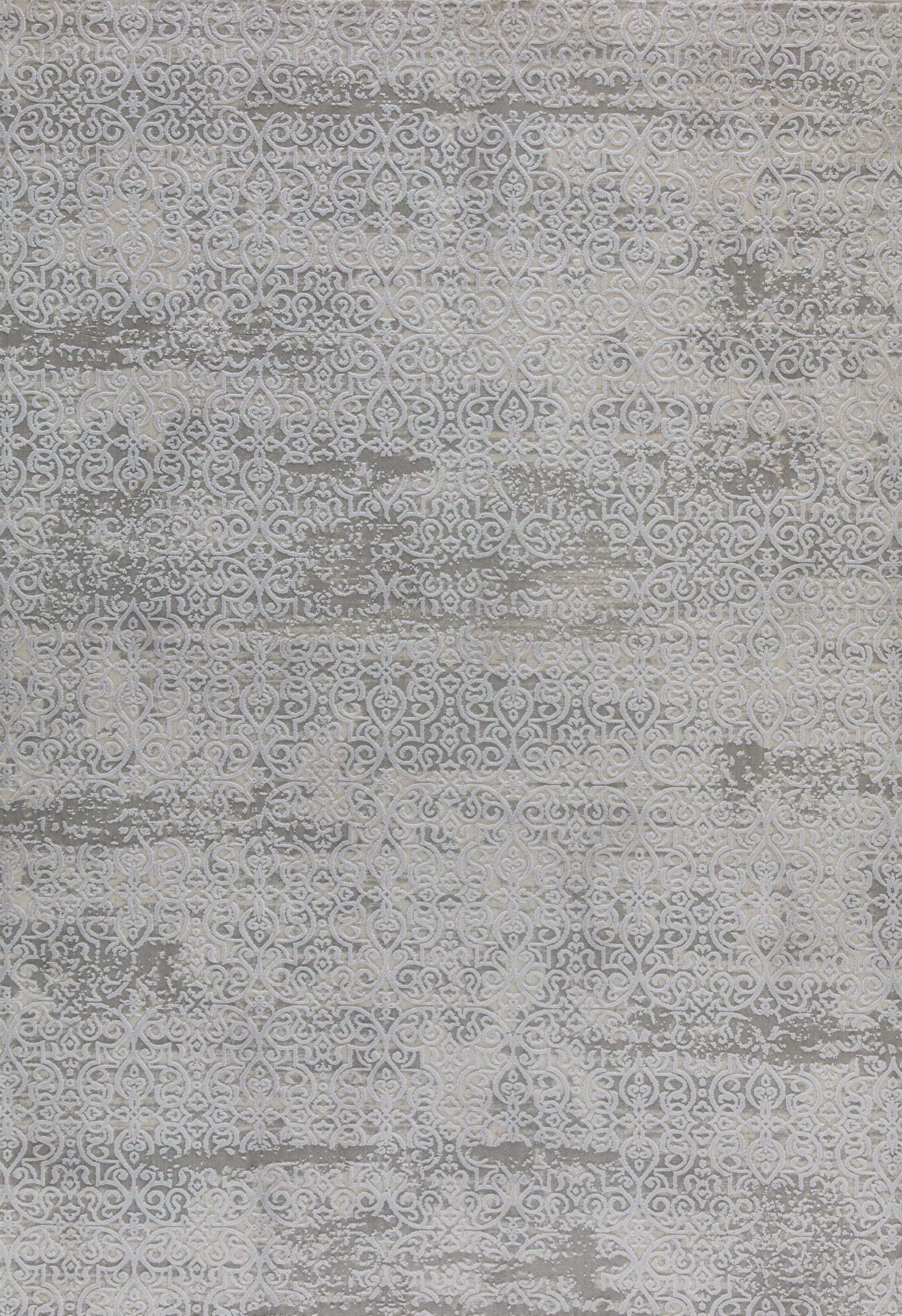 Rearick Gray/Blue Area Rug Rug Size: Rectangle 6'7