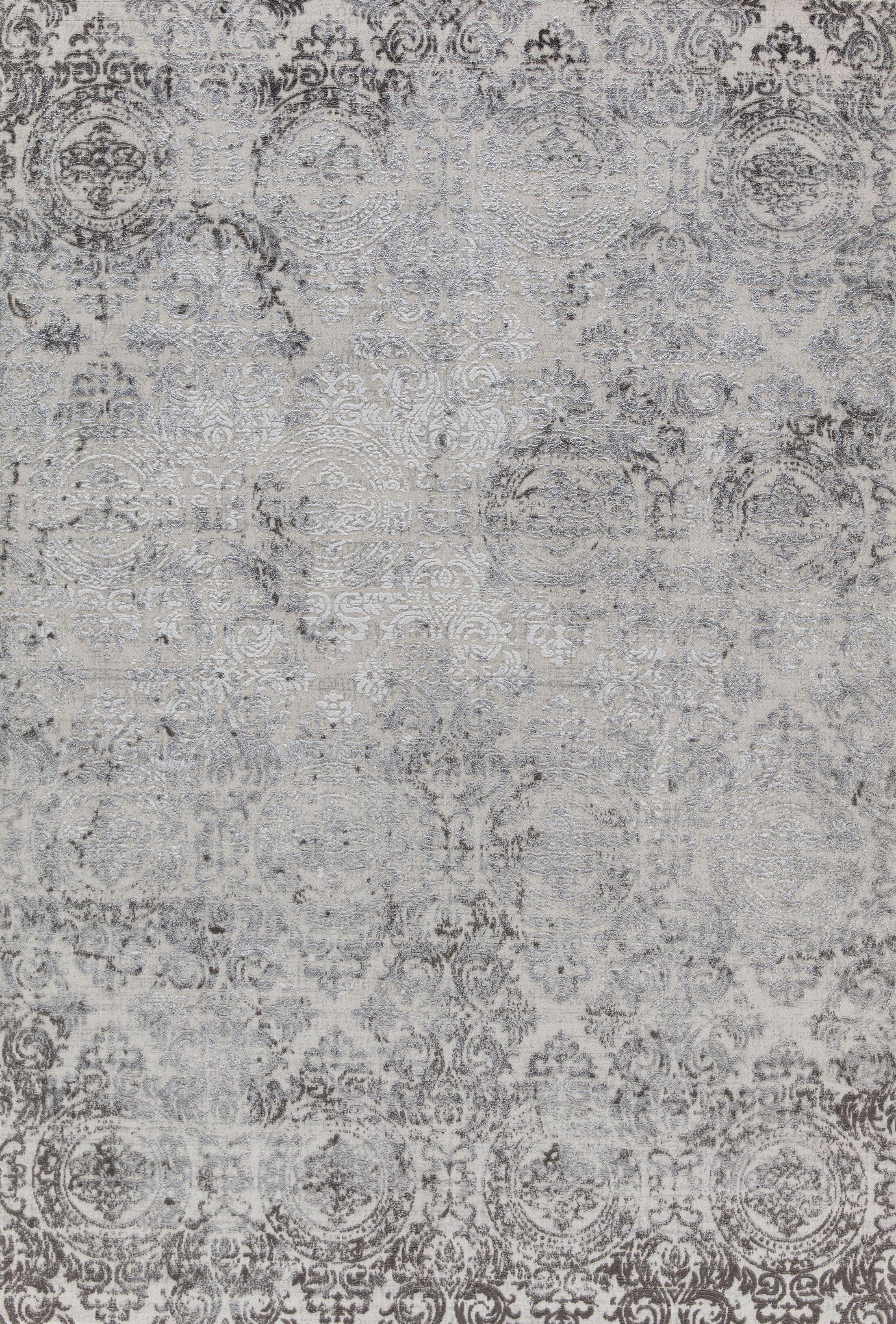 Rearick White Area Rug Rug Size: Rectangle 5'3