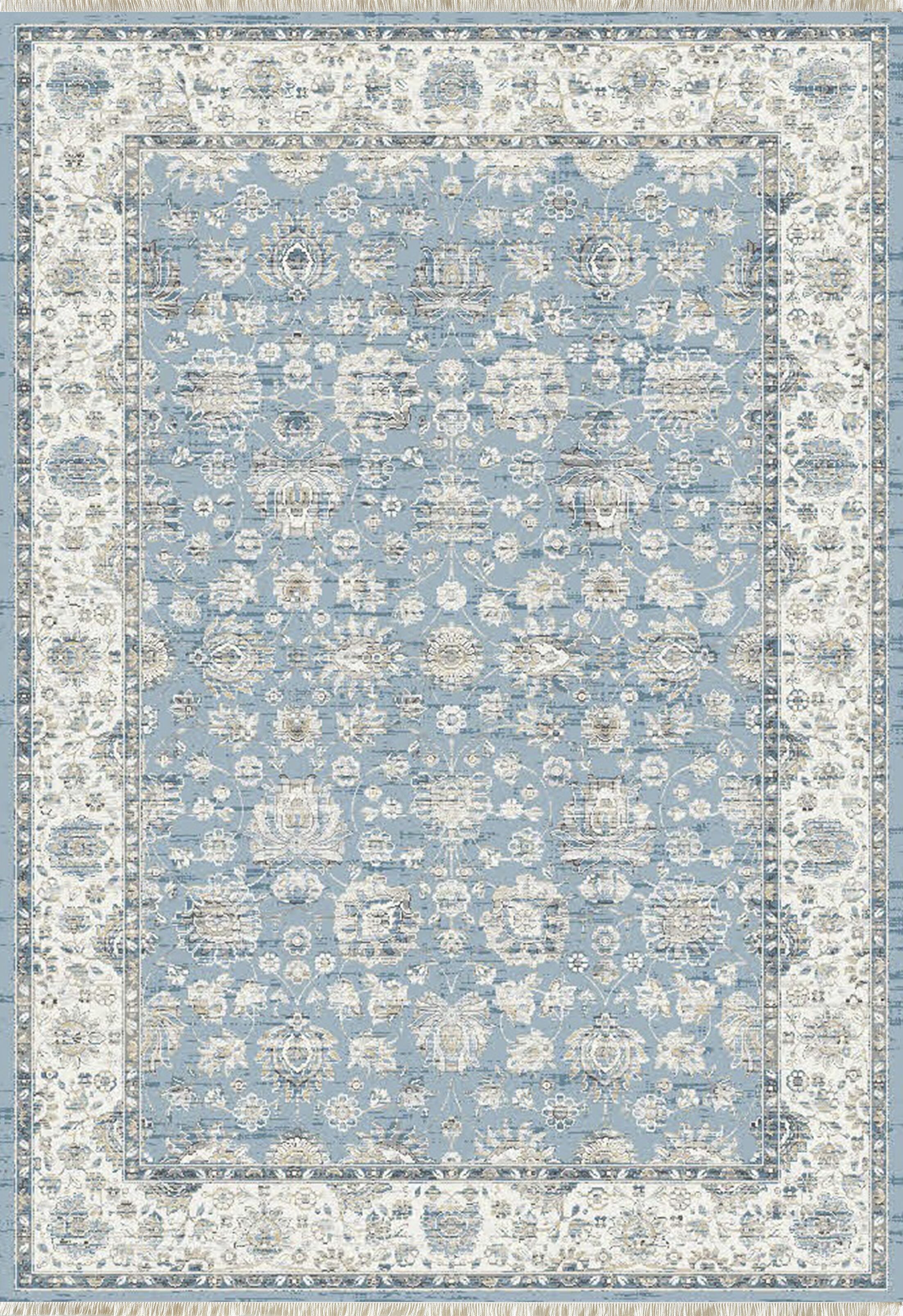Whorton Light Blue Area Rug Rug Size: Rectangle 7'10