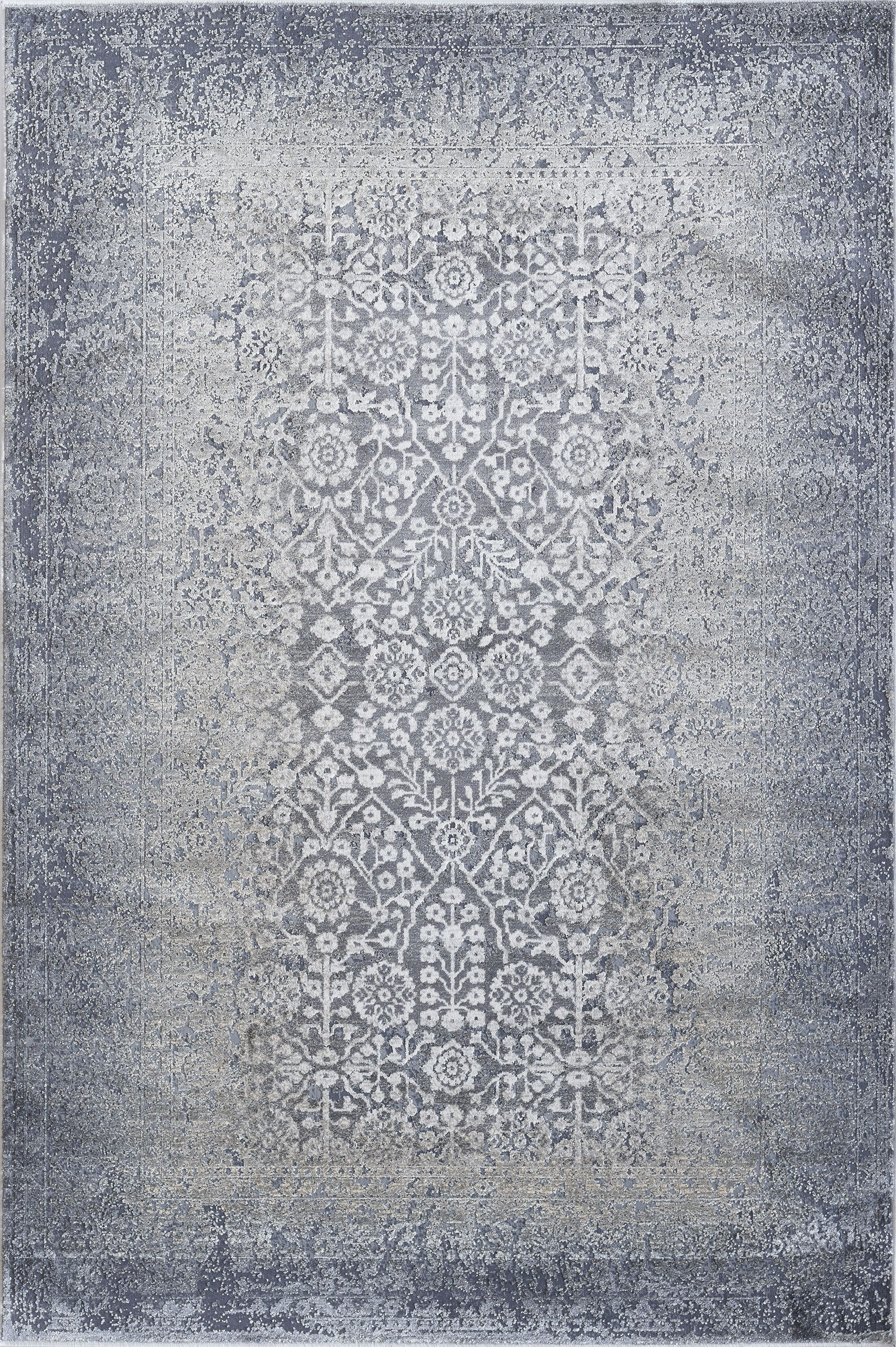 Calliope Fume Area Rug Rug Size: Rectangle 6'7