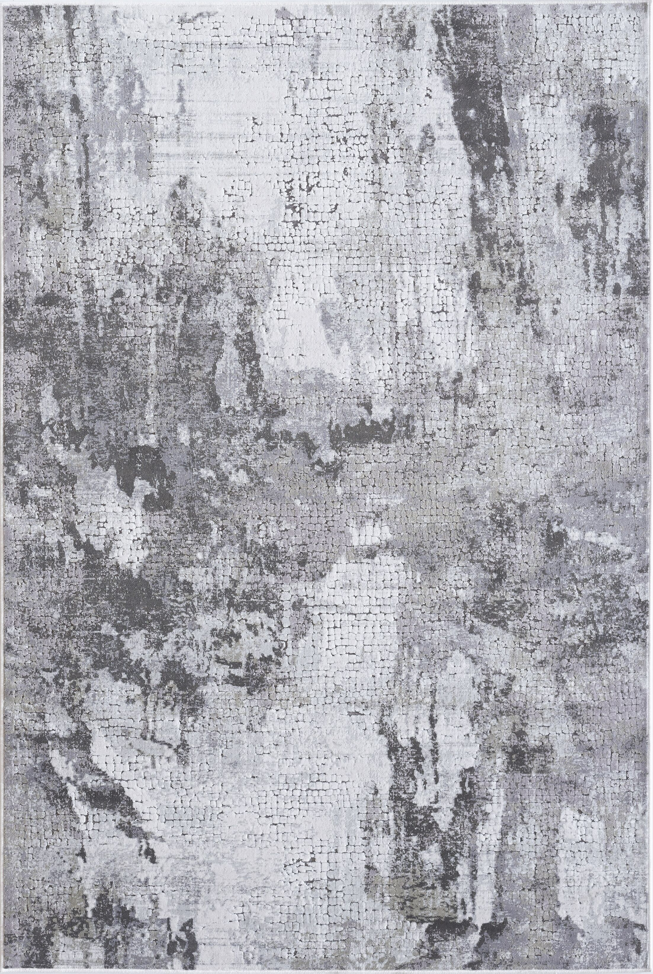 Meagher Gray Area Rug Rug Size: Rectangle 9'2