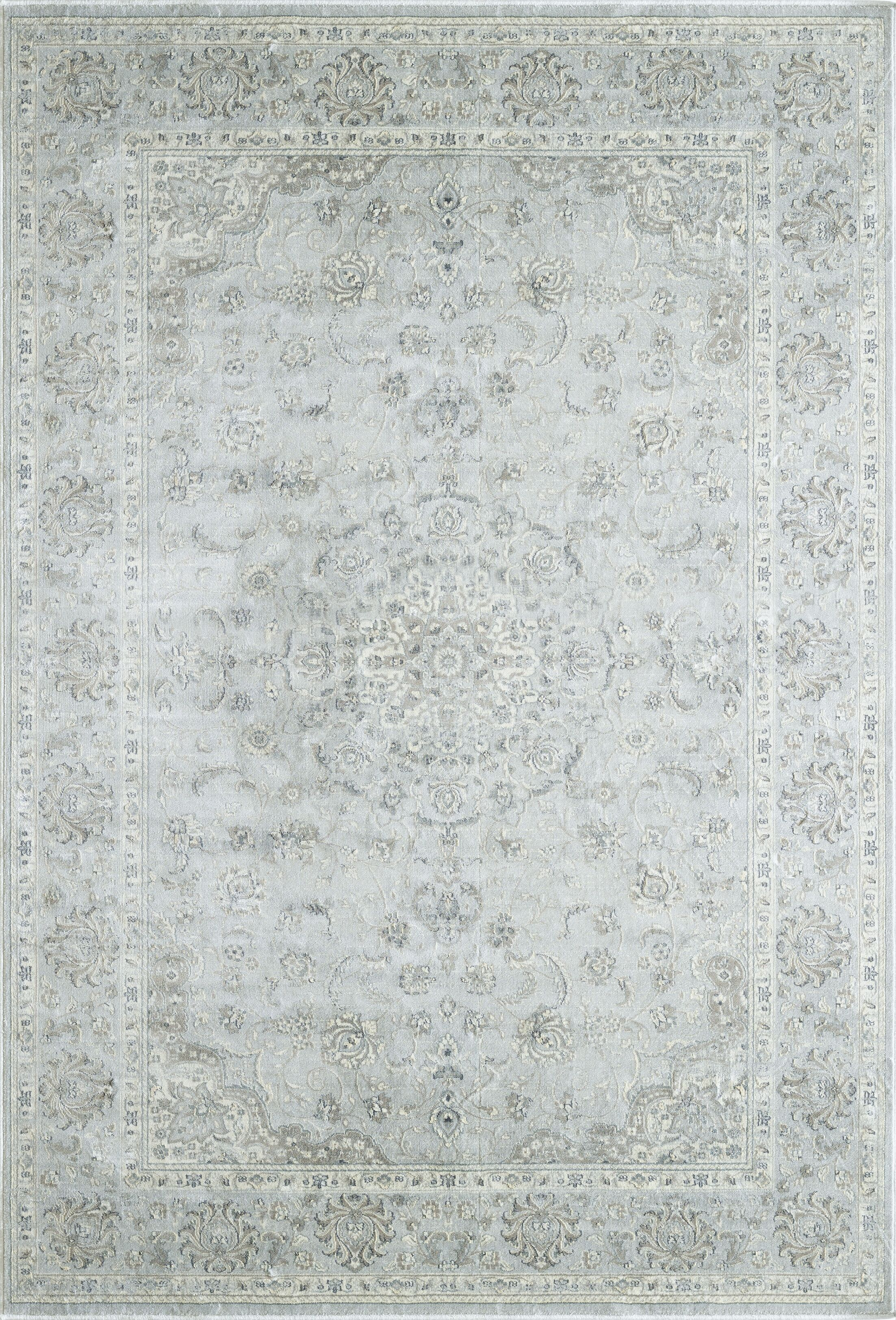 Whyalla Light Gray Area Rug Rug Size: Rectangle 7'10