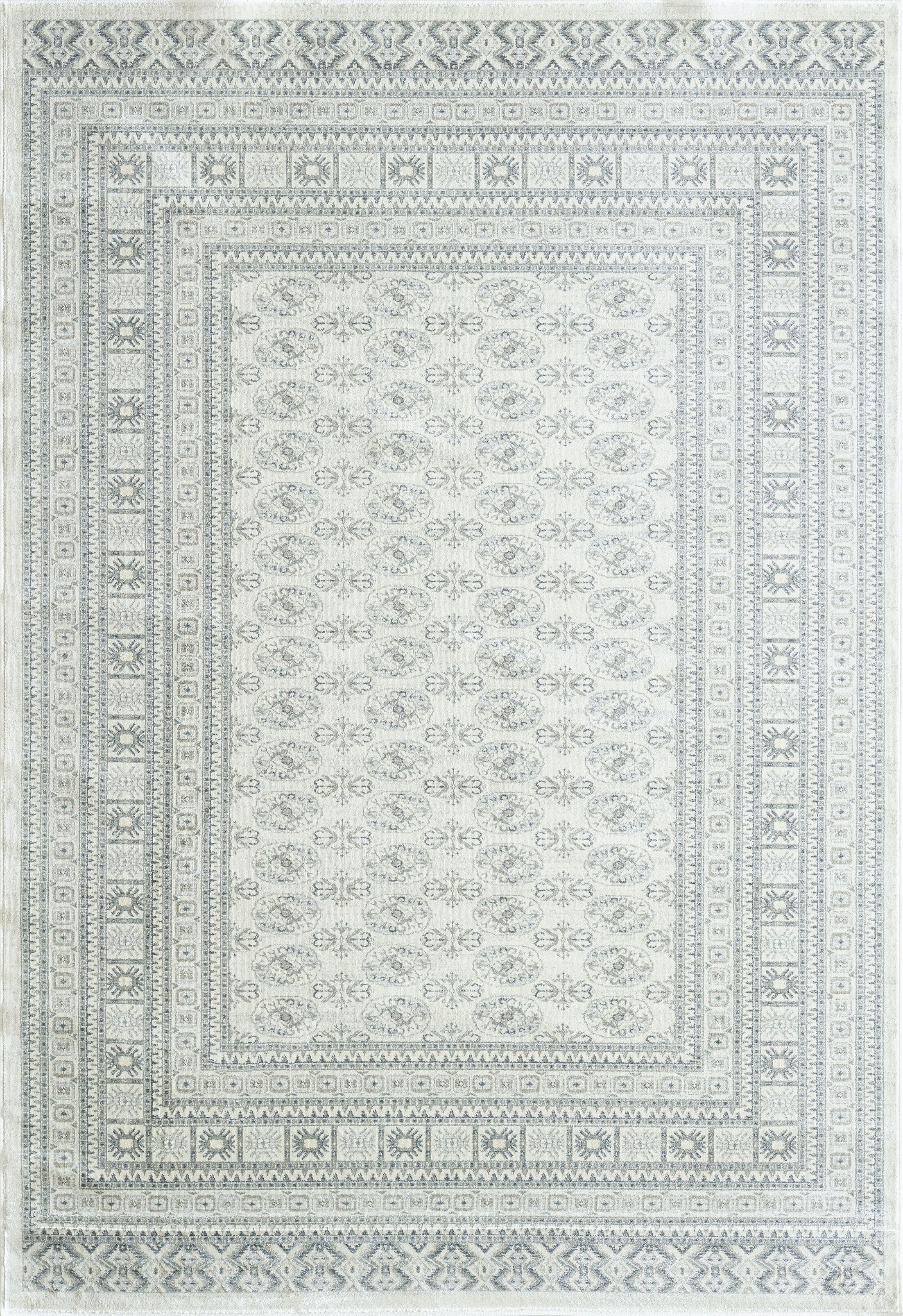 Whyalla Cream Area Rug Rug Size: Runner 2'2