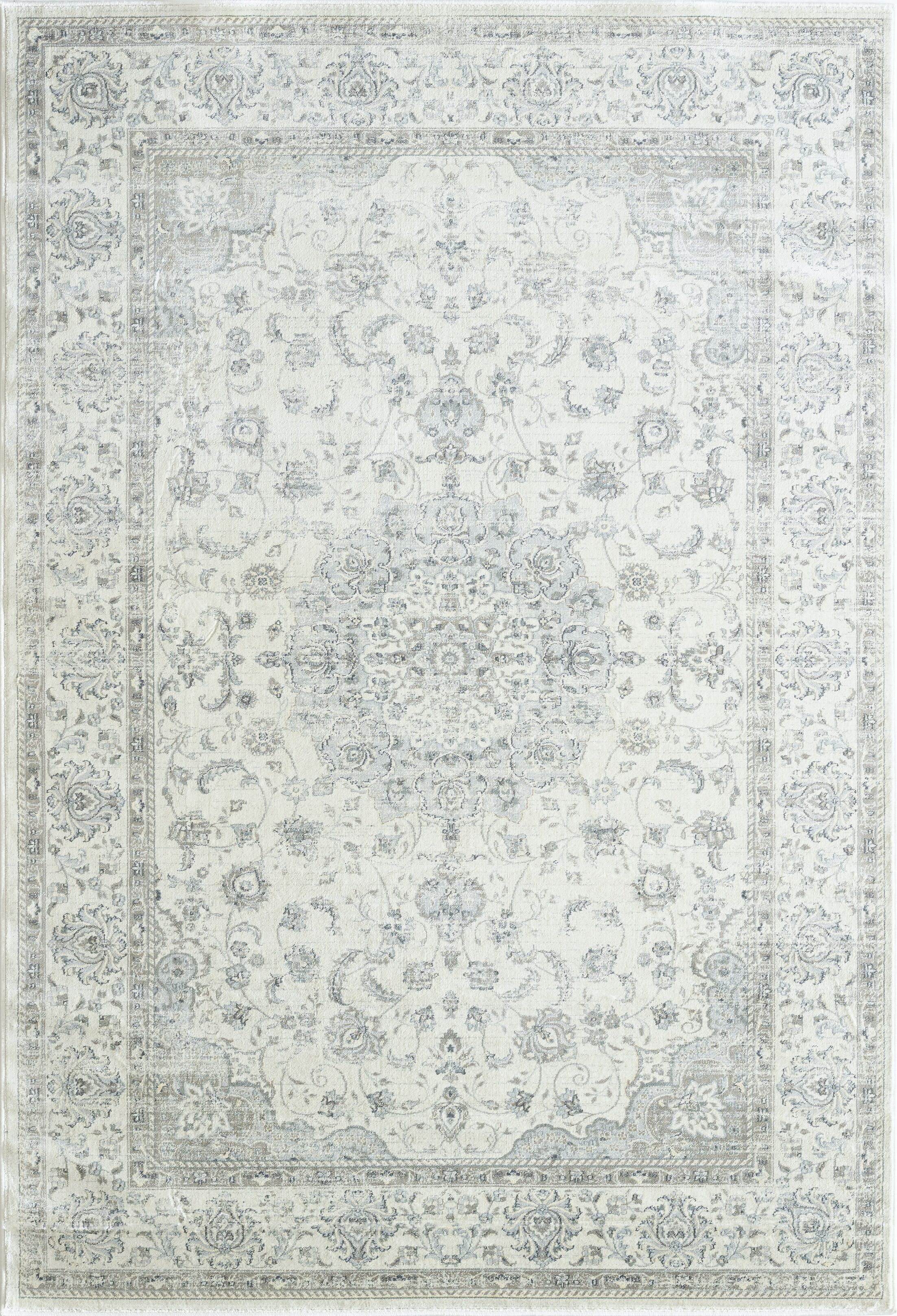 Whyalla Cream Area Rug Rug Size: Rectangle 7'10