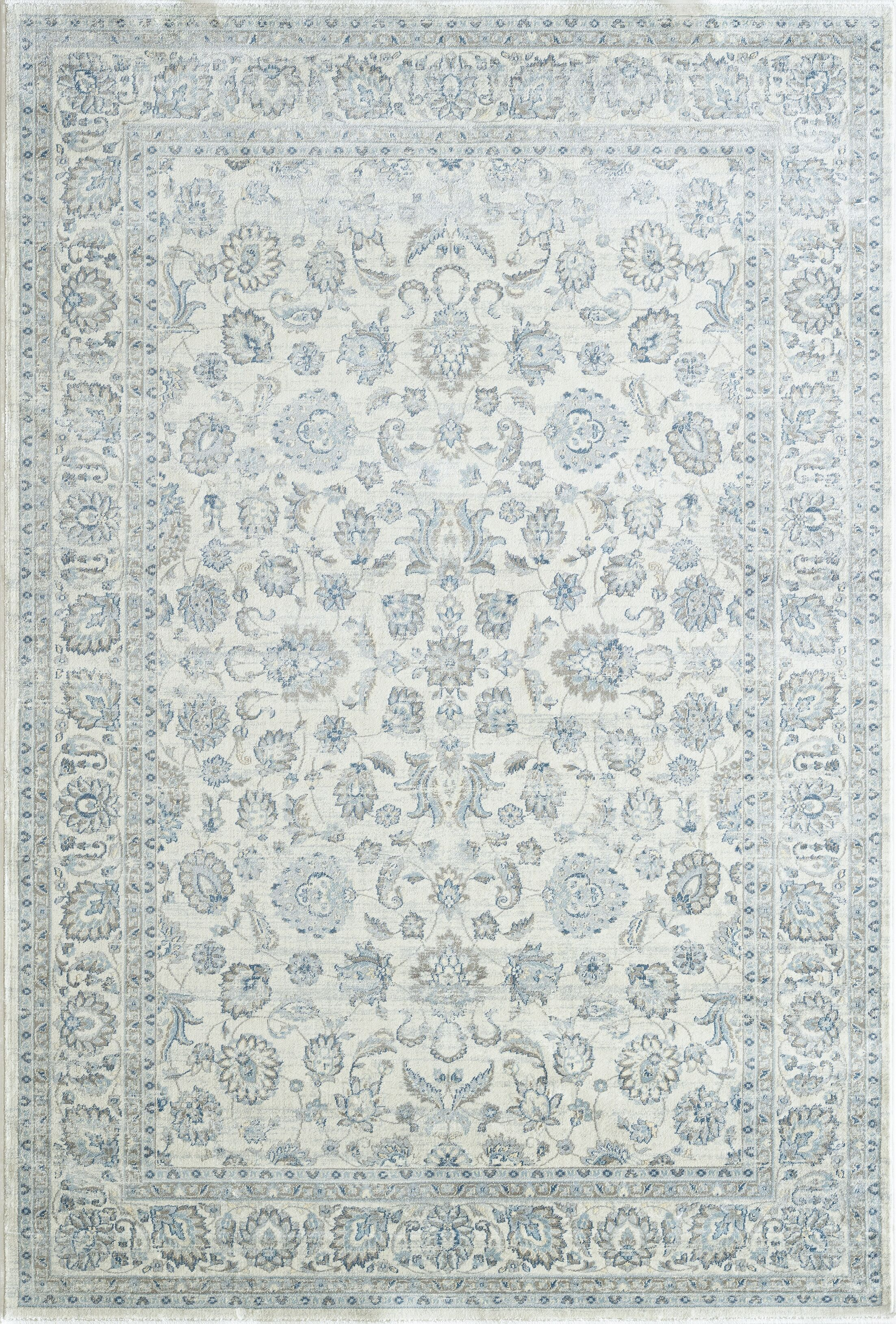 Whyalla Cream Area Rug Rug Size: Rectangle 3'6