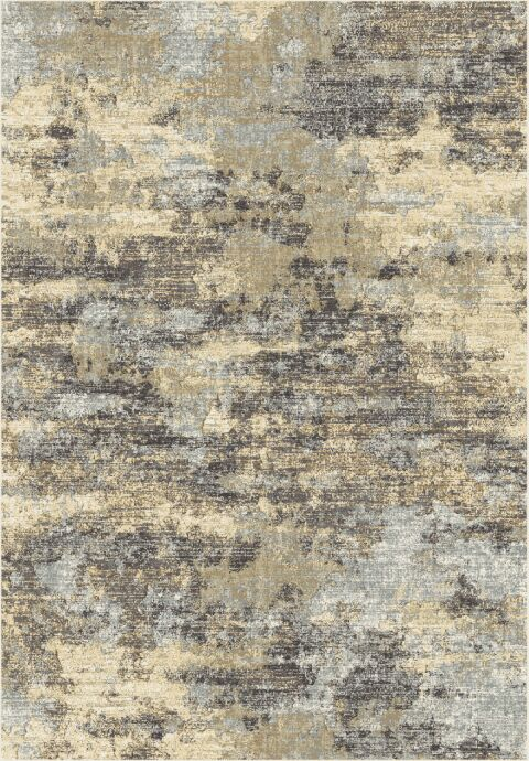 Meadows Taupe/Cream Area Rug Rug Size: Runner 2'2
