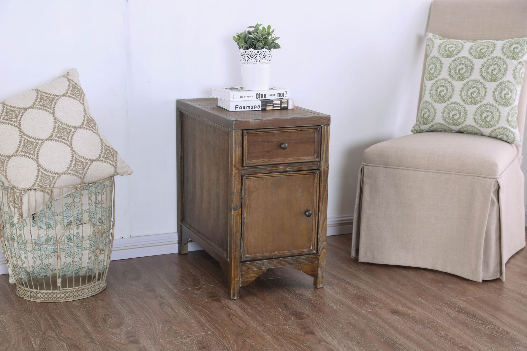 Caius Side Table