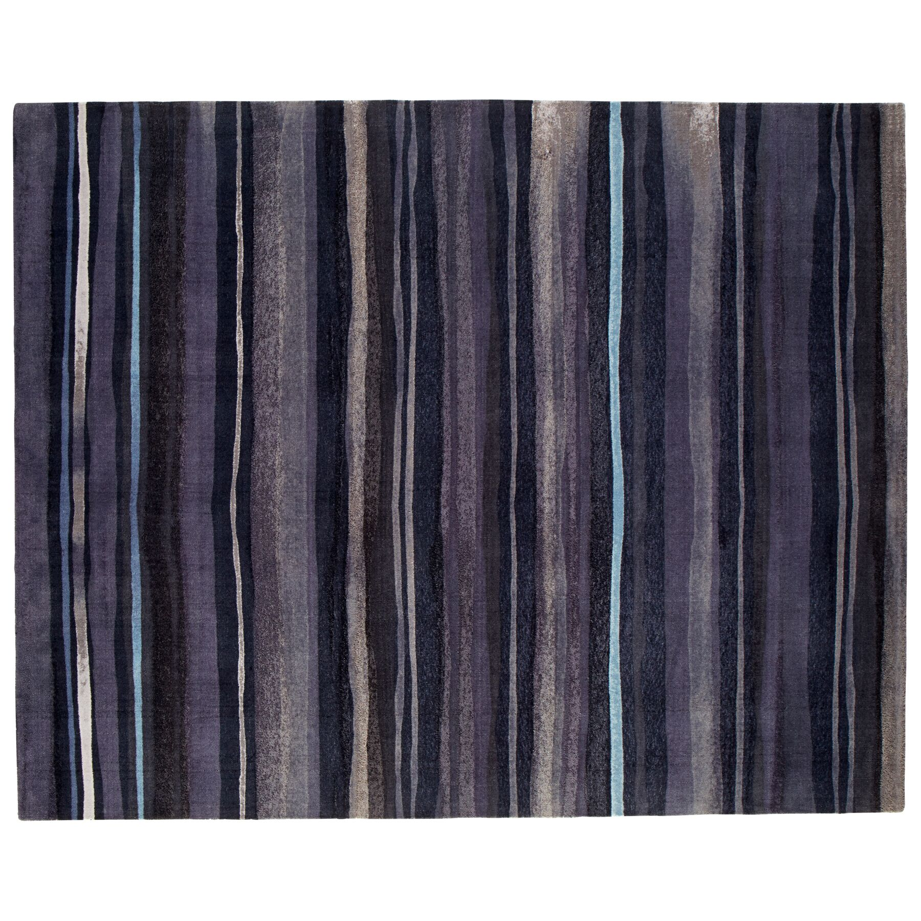 Arabian Nights Gray Area Rug Rug Size: Rectangle 8' x 10'