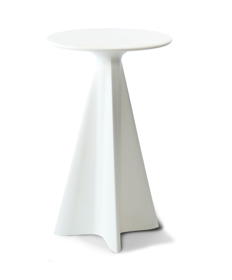 Glasser Bar Table Color: Cloud