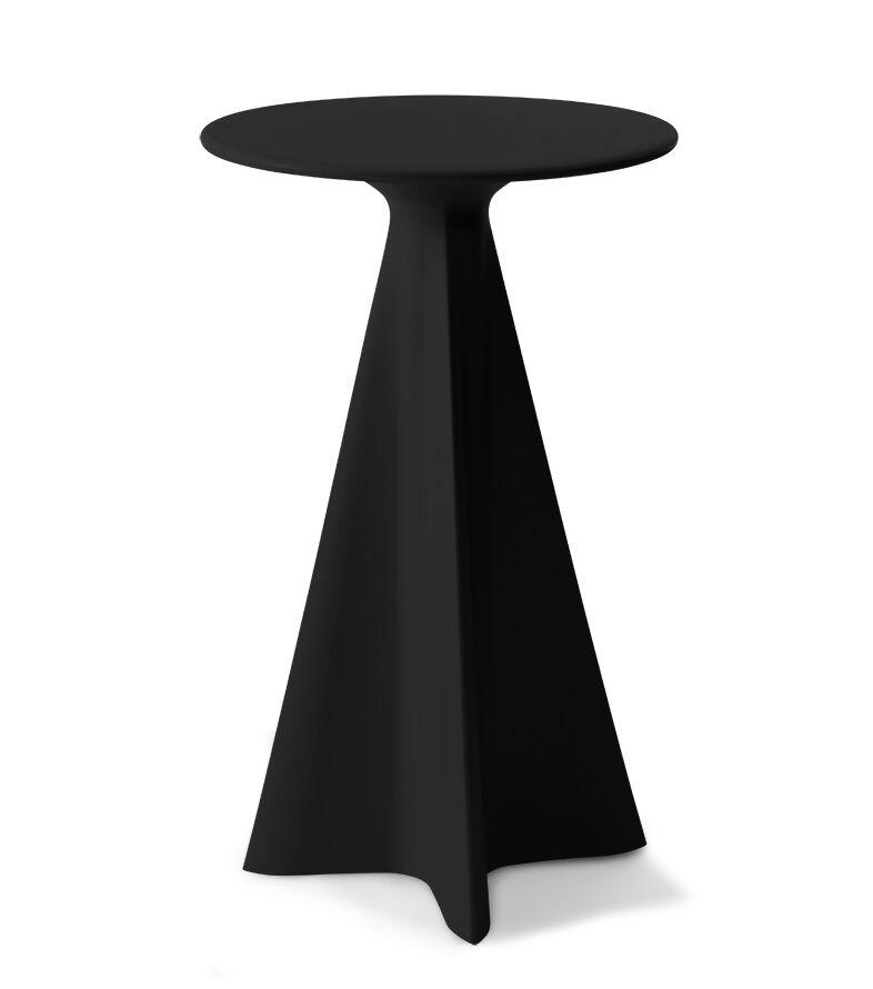 Glasser Bar Table Color: Raven
