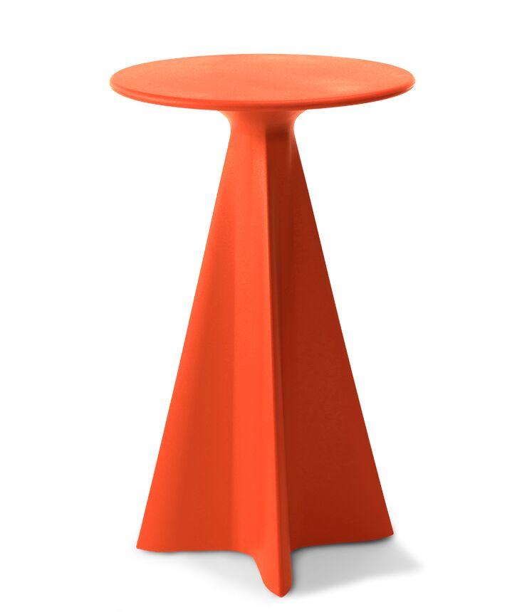 Glasser Bar Table Color: Habanero