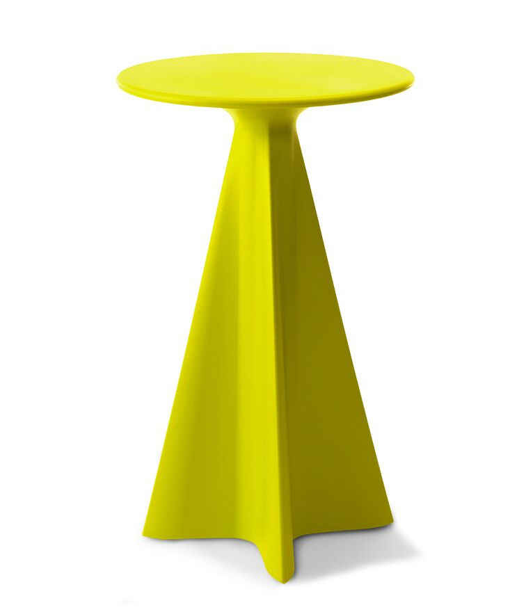 Glasser Bar Table Color: Chartreuse