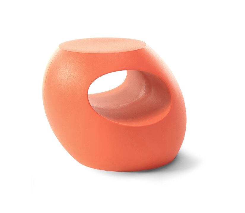 Berryman Side Table Color: Coral