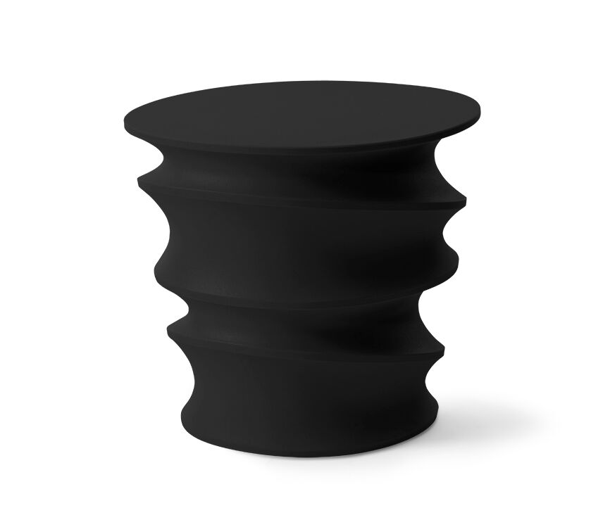 Castleman Side Table Color: Raven