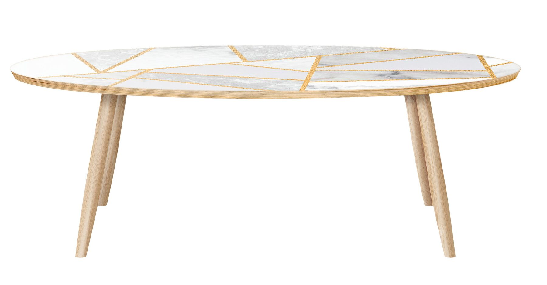 Meade Coffee Table Color: Natural