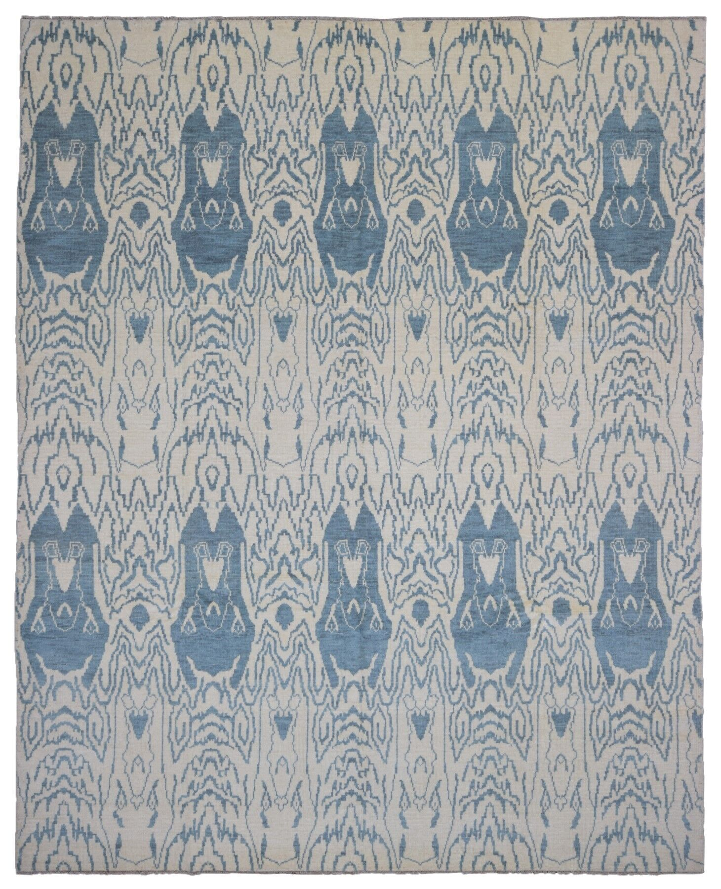 One-of-a-Kind Mitchel Turkish Knot Hand-Knotted Wool Beige Area Rug