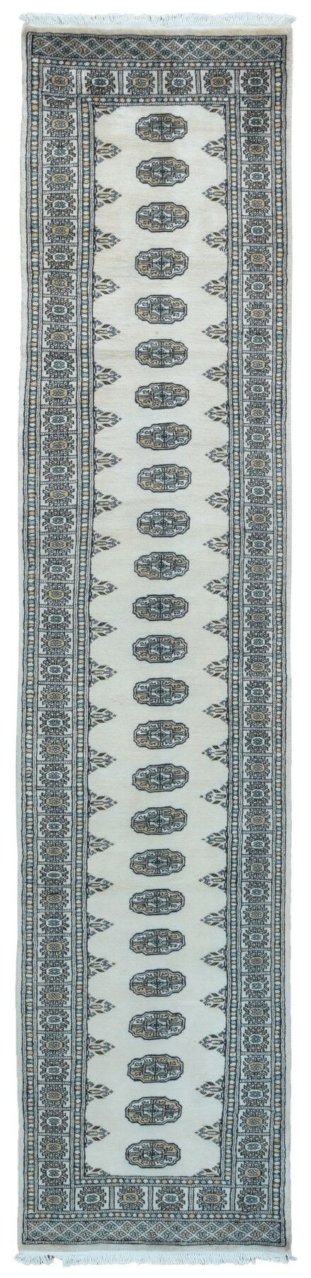 One-of-a-Kind Moloney Hand-Knotted Wool Beige Area Rug