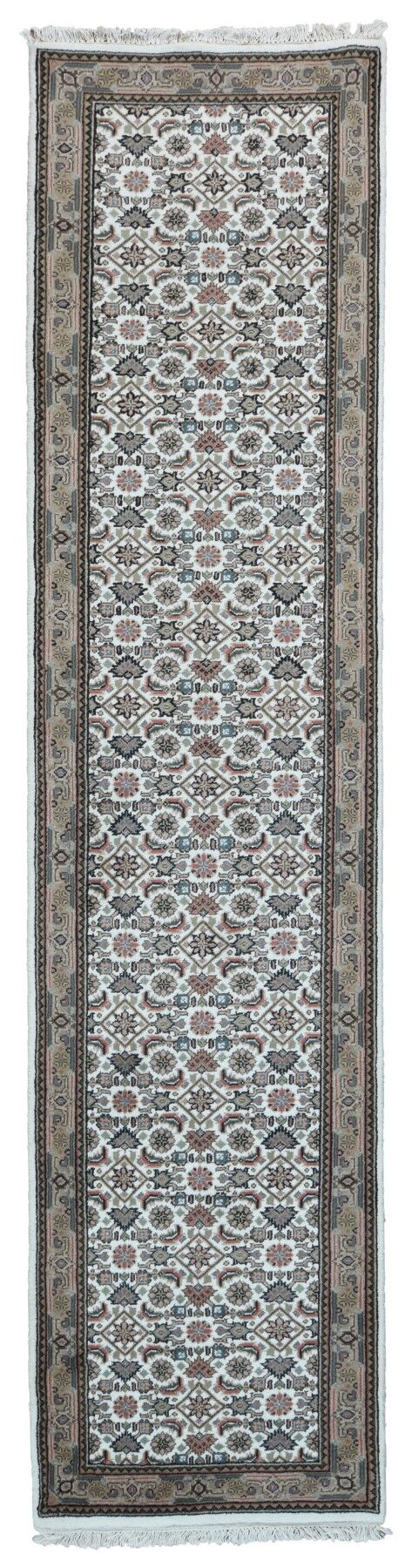 One-of-a-Kind Filomena Oriental Hand-Knotted Wool Beige Area Rug