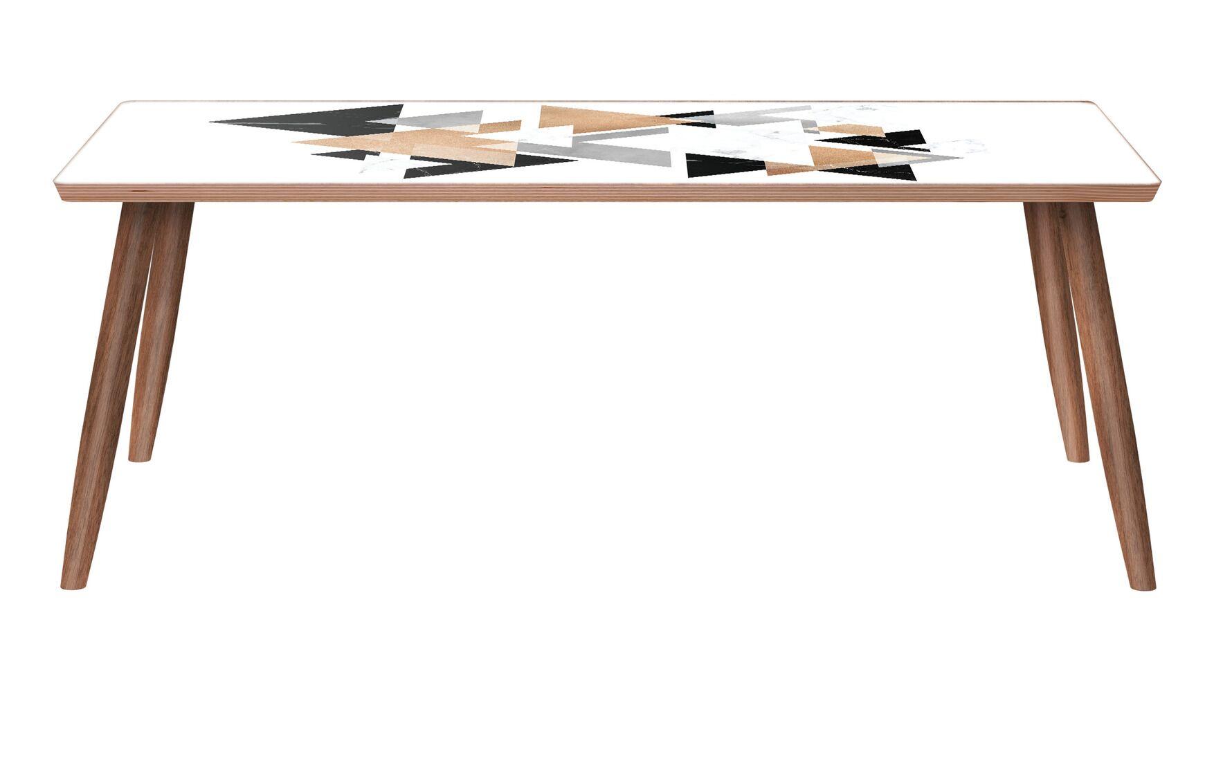 Gowen Coffee Table Color: Walnut