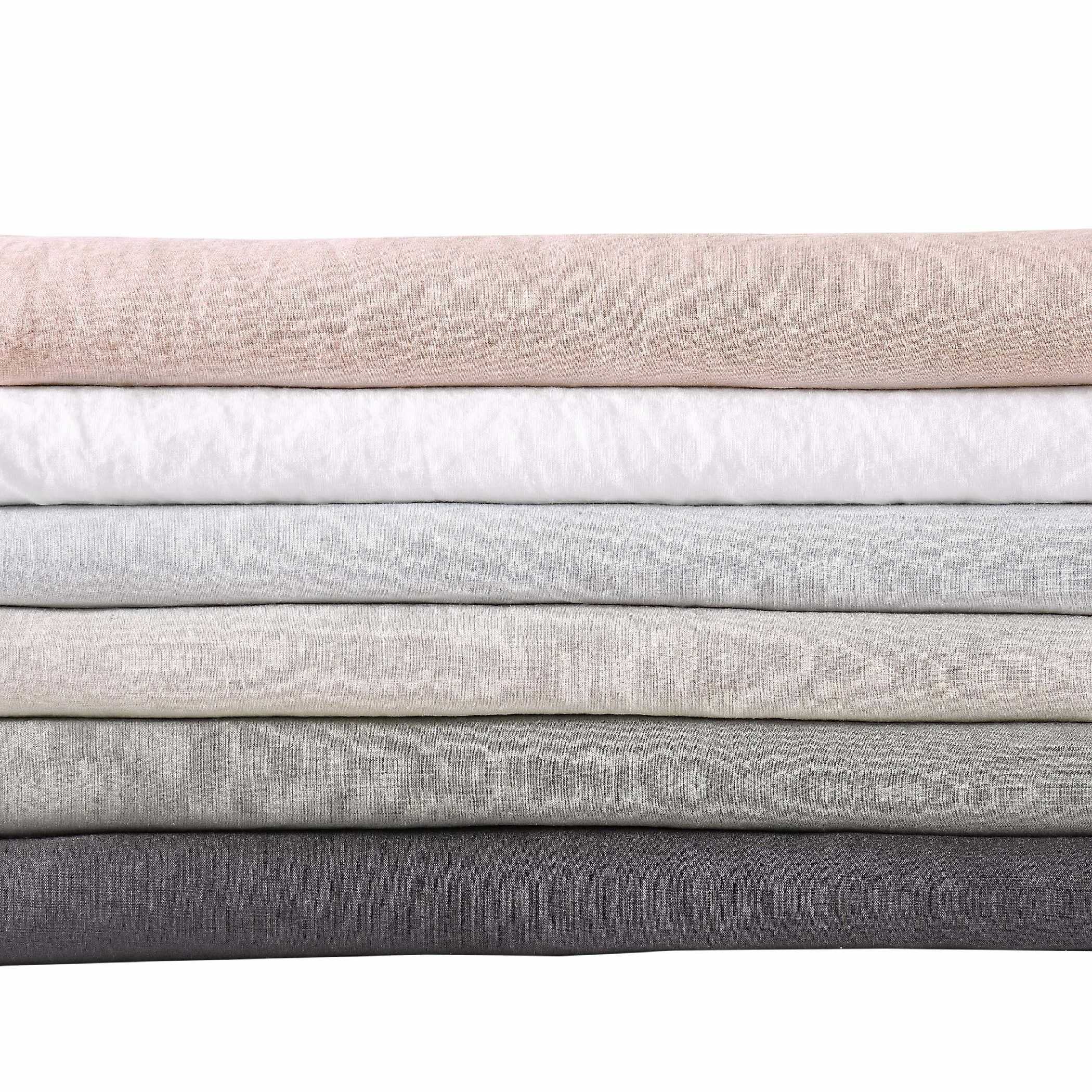 Beverly Linen Sheet Set Color: White, Size: Cal. King