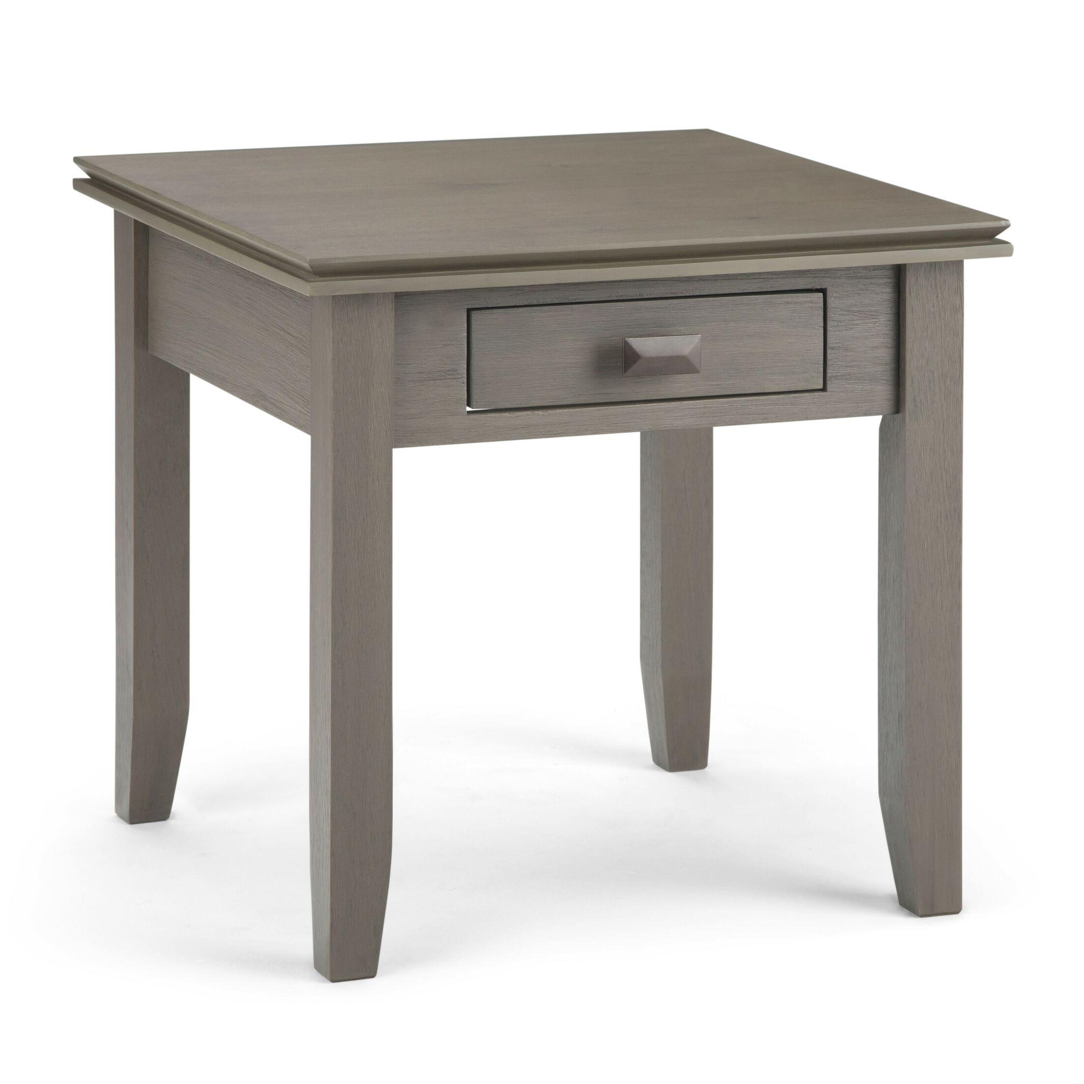 Artisan End Table Color: Farmhouse Gray