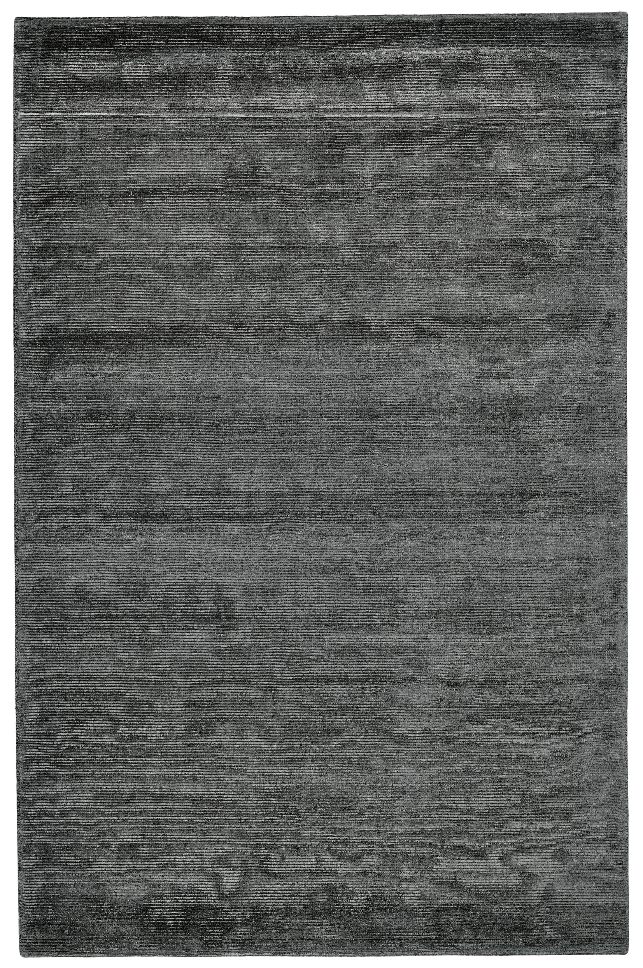 Riaria Hand-Woven Charcoal Area Rug Rug Size: Rectangle 2' x 3'