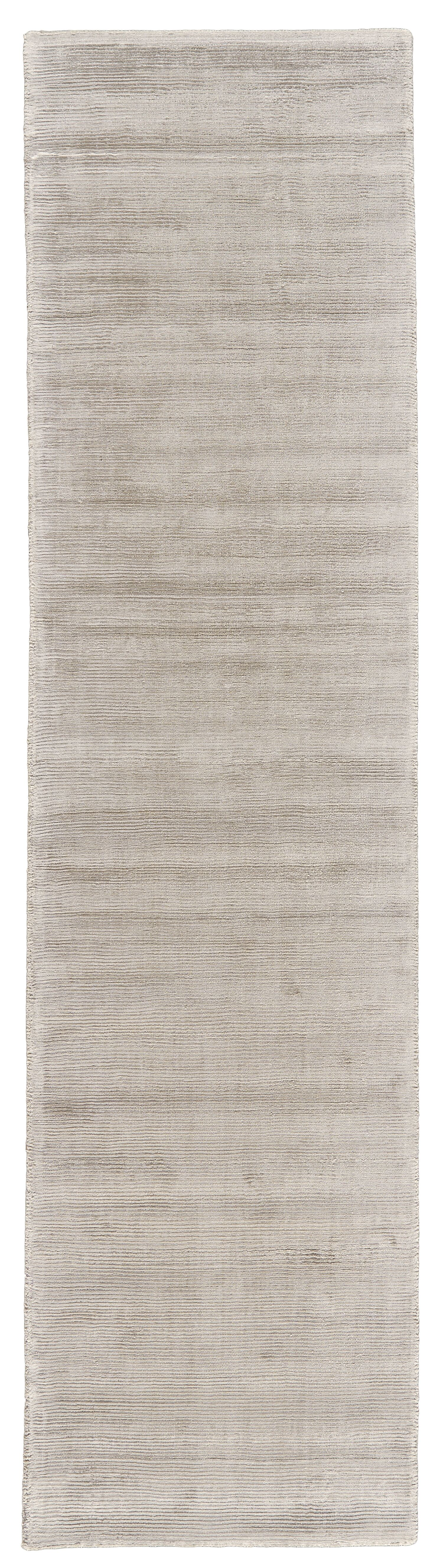 Riaria Hand-Woven Taupe Area Rug Rug Size: Runner 2'6